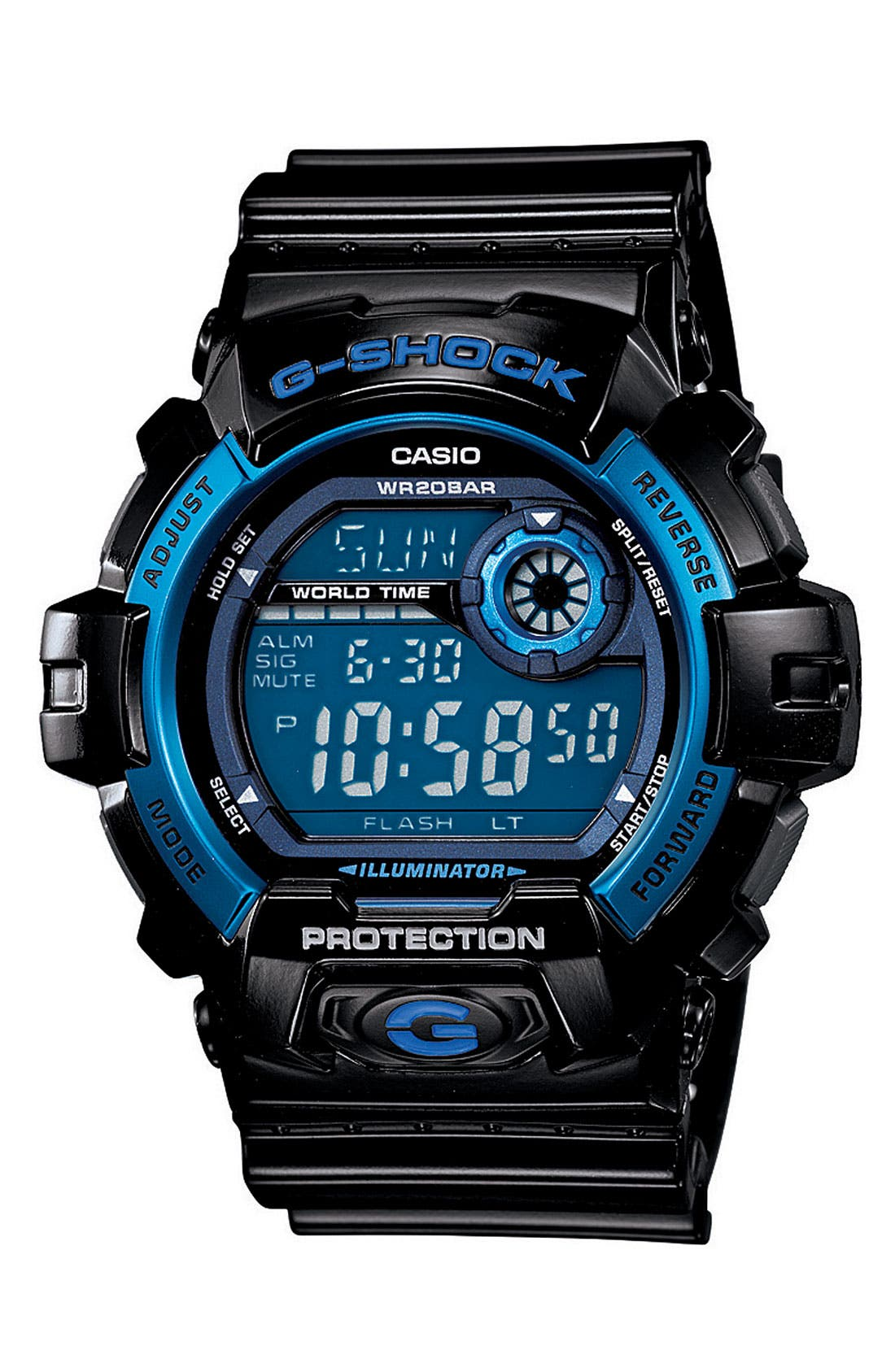 G-SHOCK BABY-G G-Shock 'X-Large' Digital Watch, 55mm x