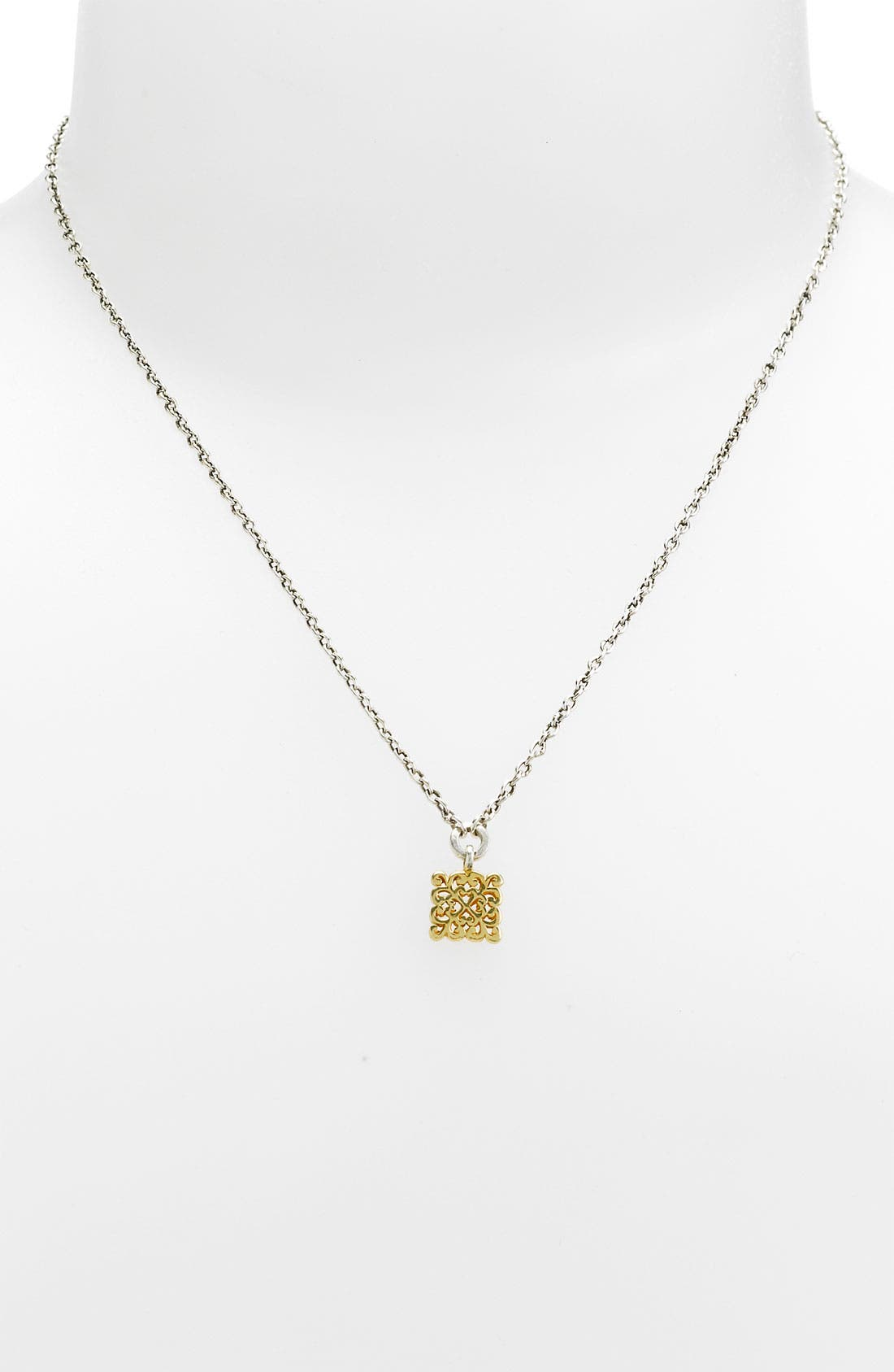 Alternate Image 1 Selected - Lois Hill 'Two Tone Organic Geo' Extra Small Pendant Necklace (Nordstrom Exclusive)