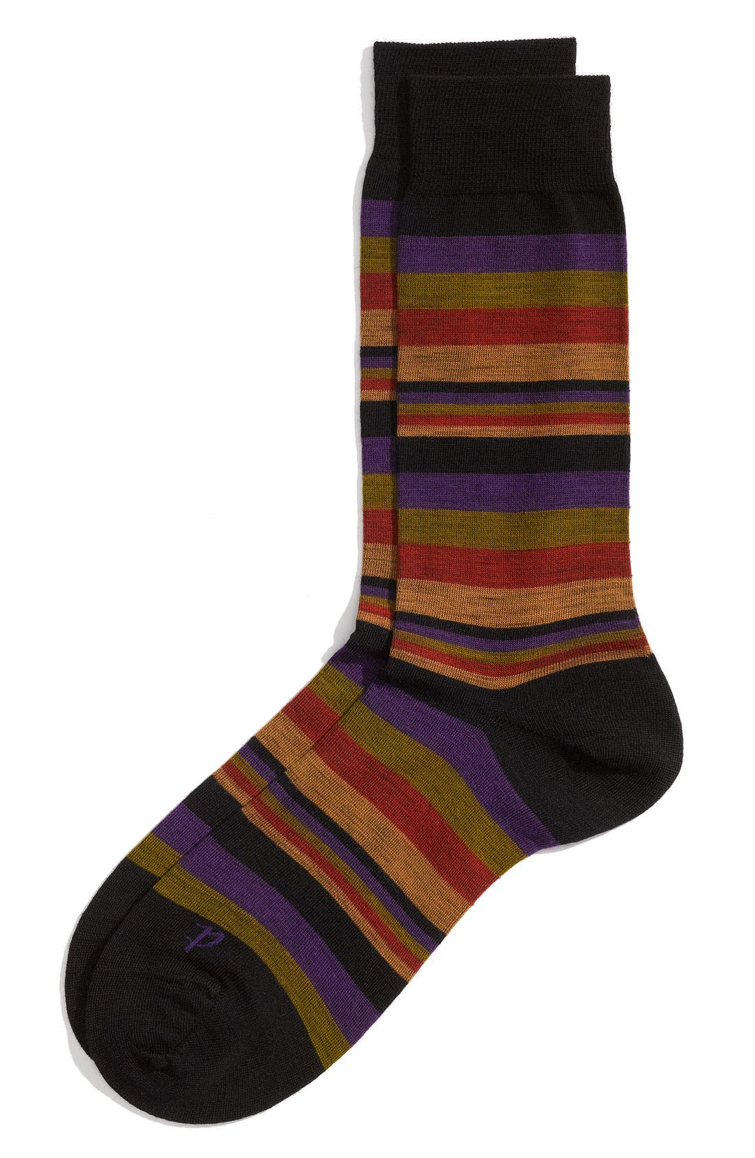 Alternate Image 1 Selected - Pantherella 'Aztec Stripe' Dress Socks