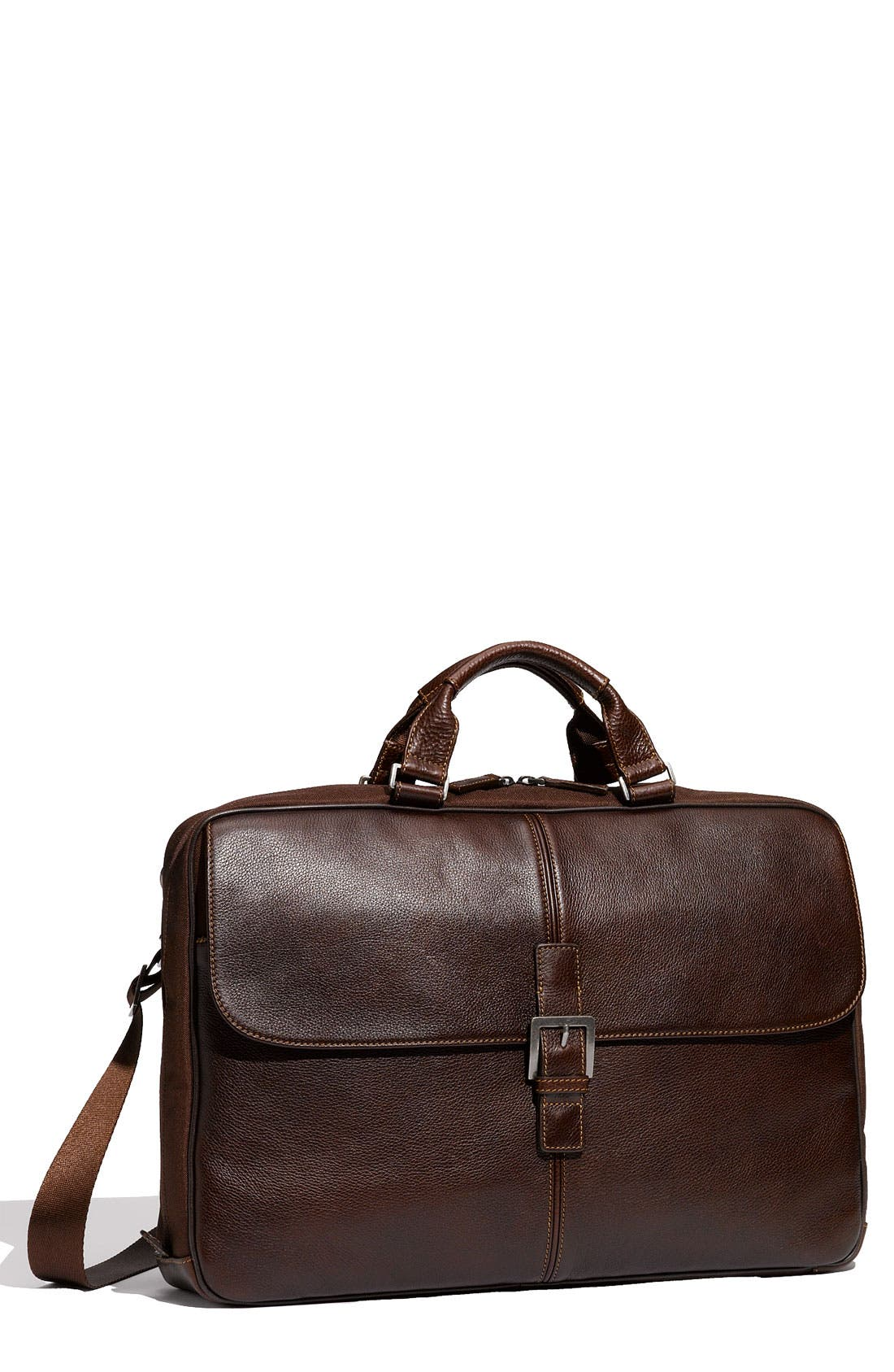 Main Image - Boconi 'Tyler - Dispatche' Tumbled Leather Briefcase