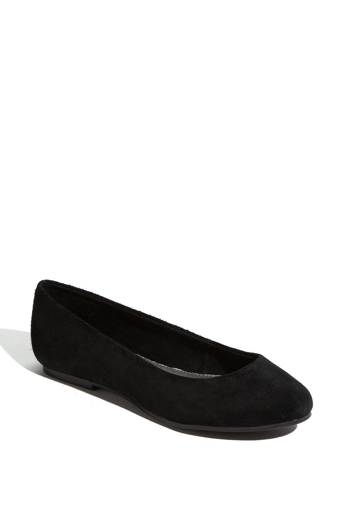 Alternate Image 1 Selected - BC Footwear 'Limousine' Suede Flat