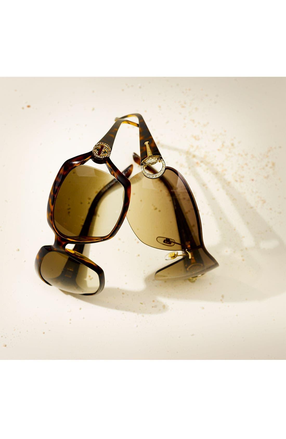 Alternate Image 2  - Gucci Oversized Sunglasses