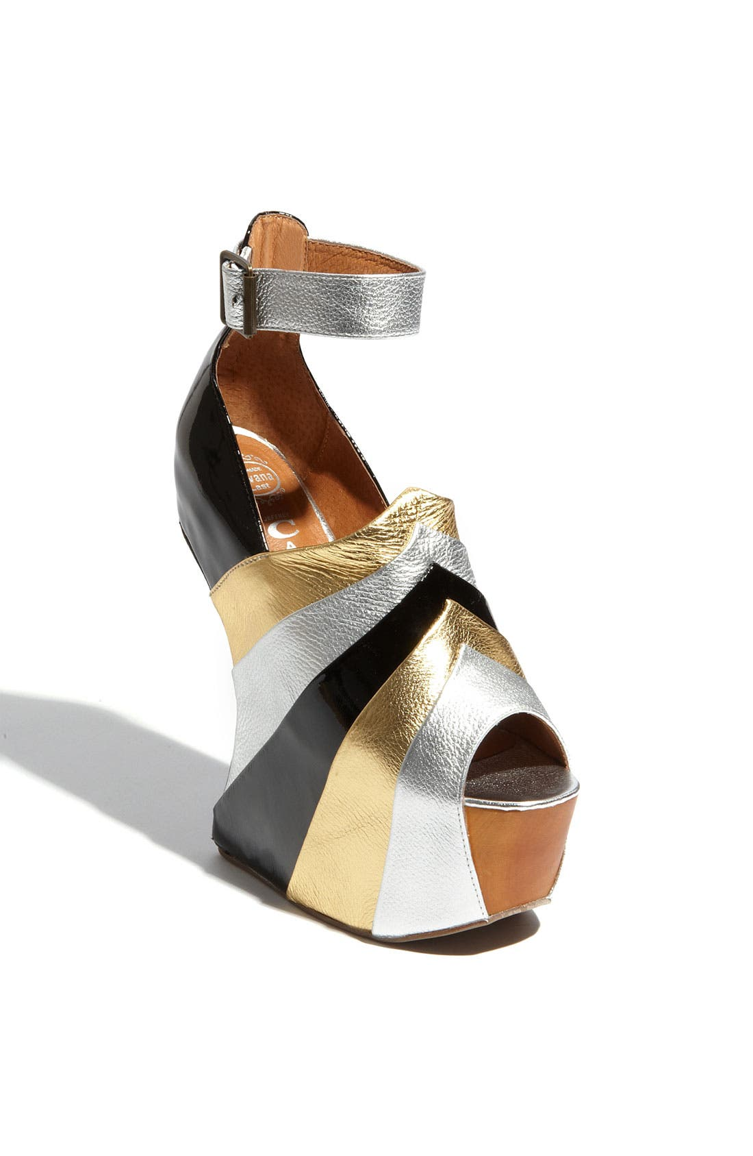 Alternate Image 1 Selected - Jeffrey Campbell 'Rock-Star' Sandal