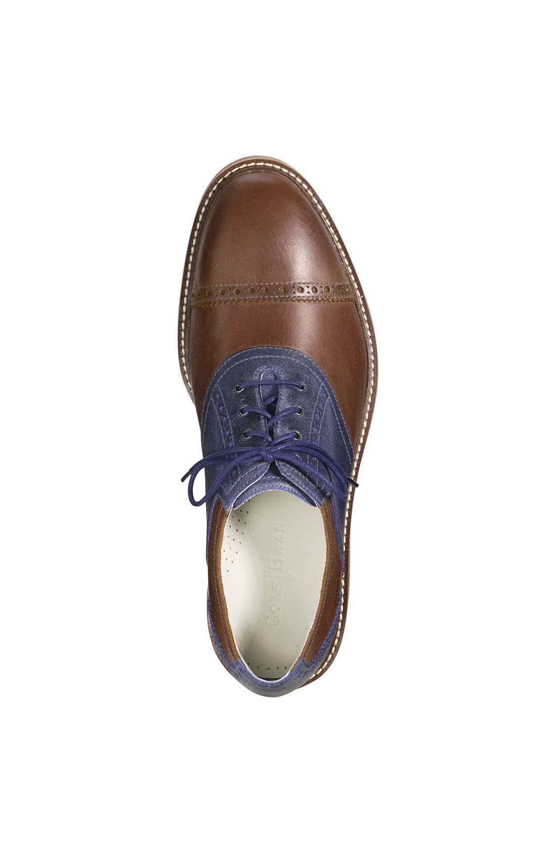 Alternate Image 4  - Cole Haan 'Air Franklin' Saddle Oxford