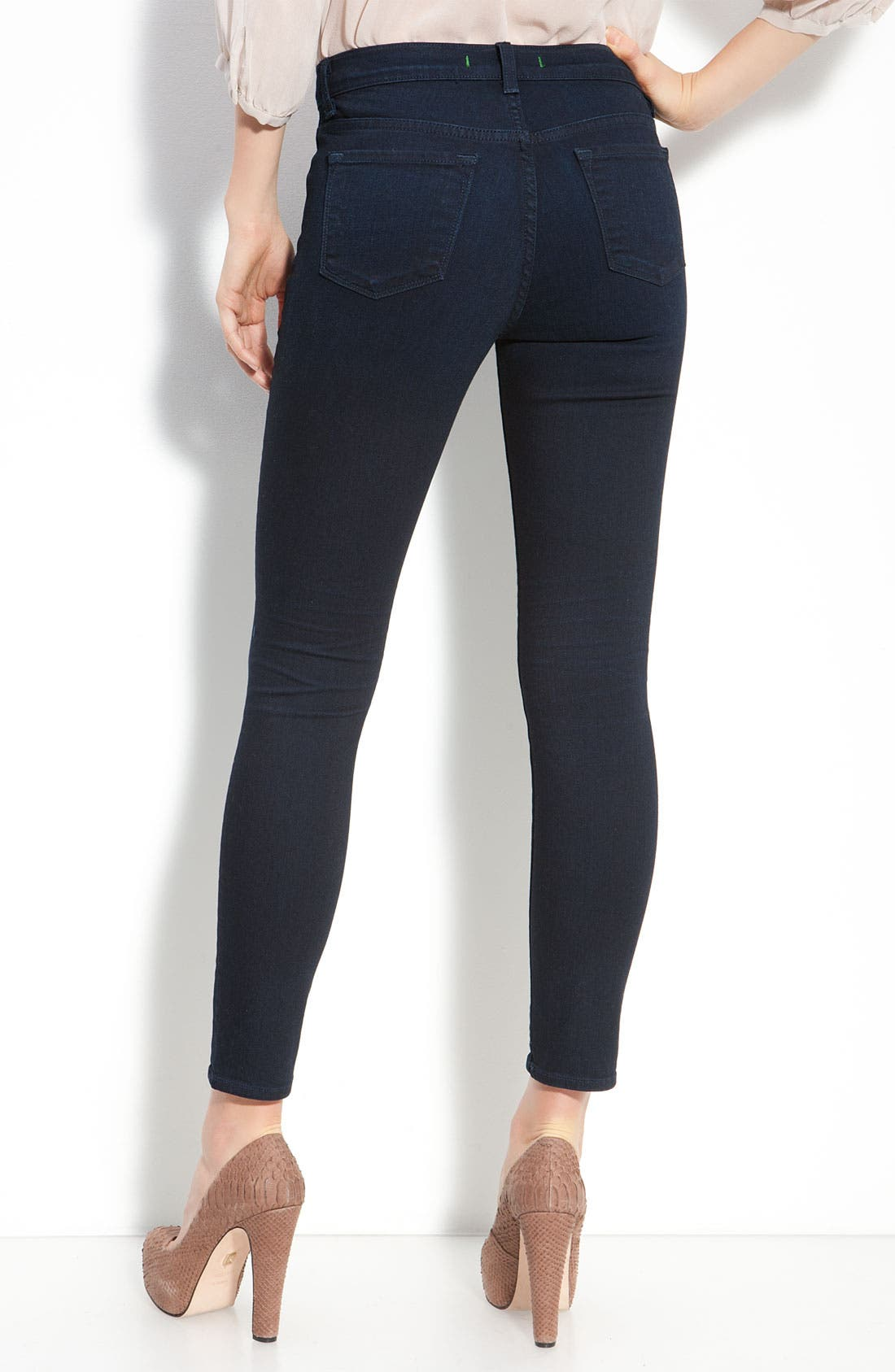 Alternate Image 1 Selected - J Brand 'Maria' Ankle Jeans (Dynamite Wash)