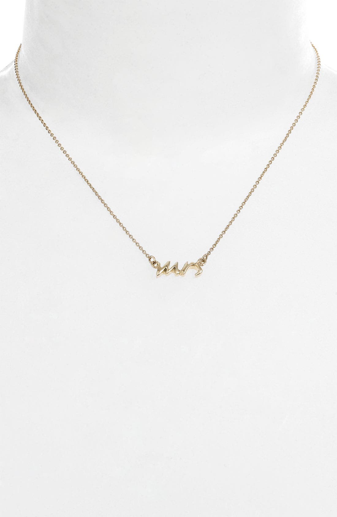 Alternate Image 2  - kate spade new york 'say yes - mrs' necklace