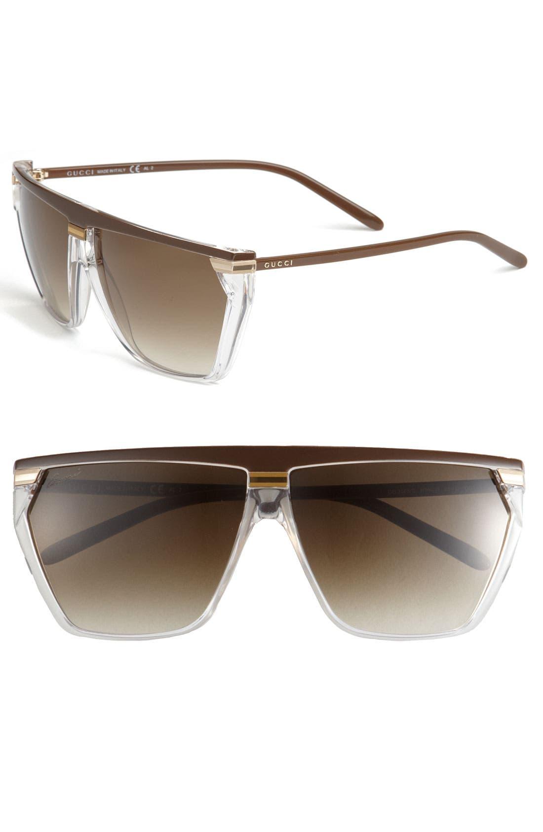 Main Image - Gucci Retro Sunglasses