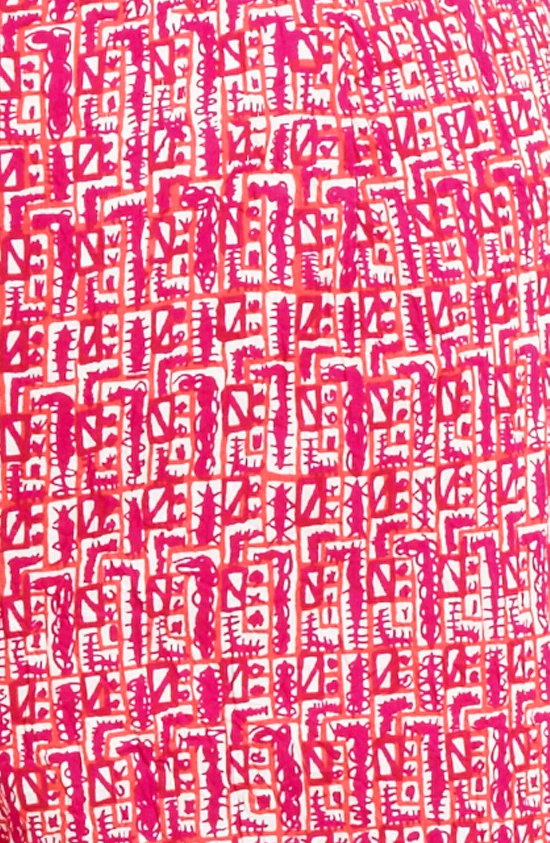 Alternate Image 3  - Piazza Sempione 'Audrey' Print Capri Pants