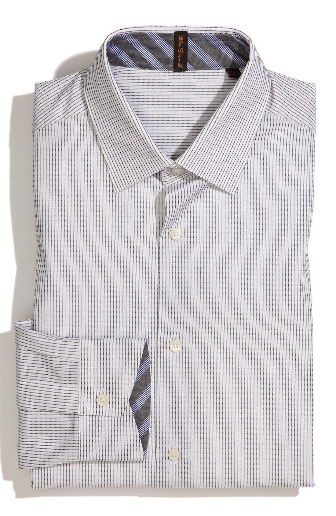 Main Image - Ben Sherman Trim Fit Dress Shirt