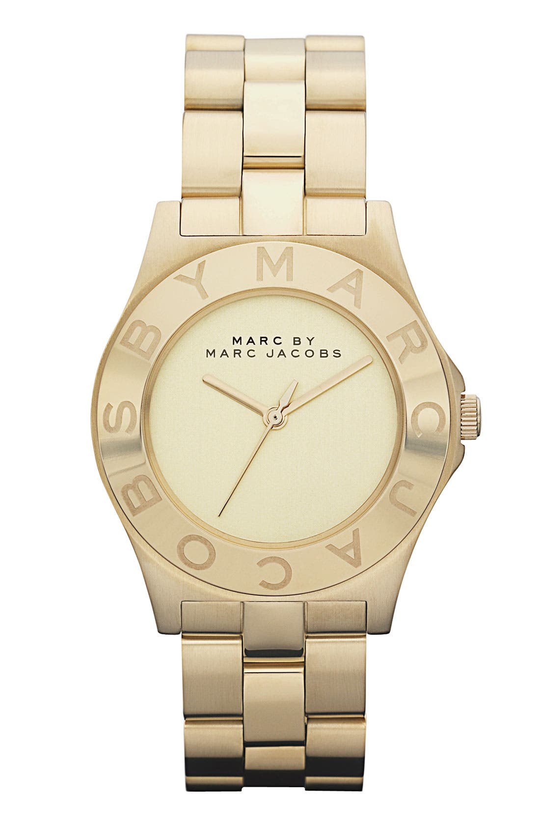 Main Image - MARC JACOBS Round Bracelet Watch, 36mm