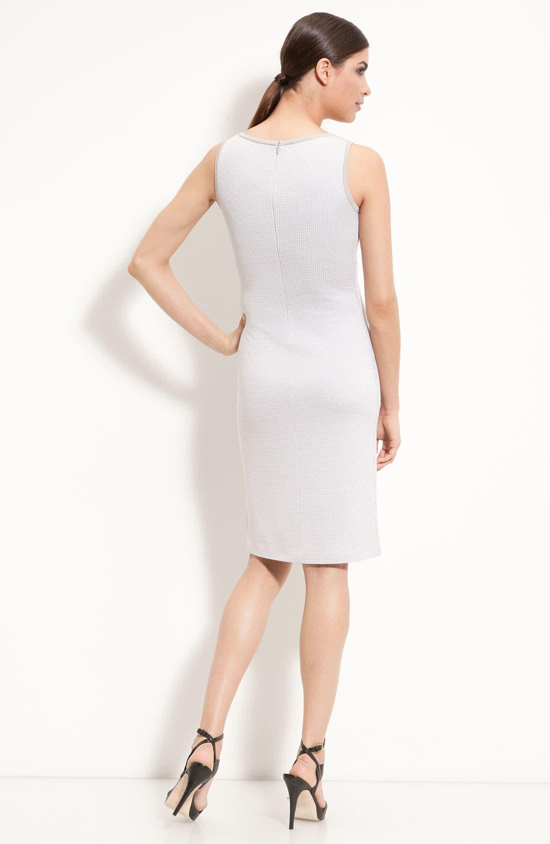 Alternate Image 2  - St. John Collection Sleeveless Knit Sheath Dress