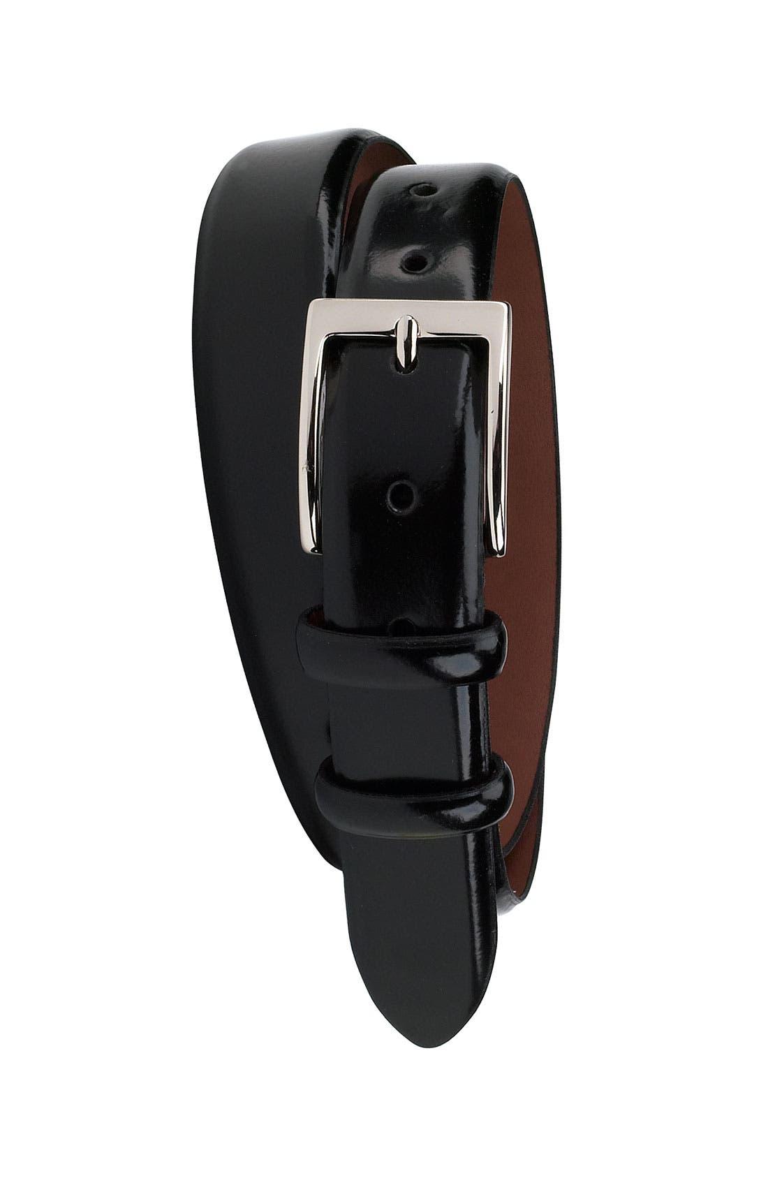 Alternate Image 1 Selected - Cole Haan 'Webster' Polished Leather Belt