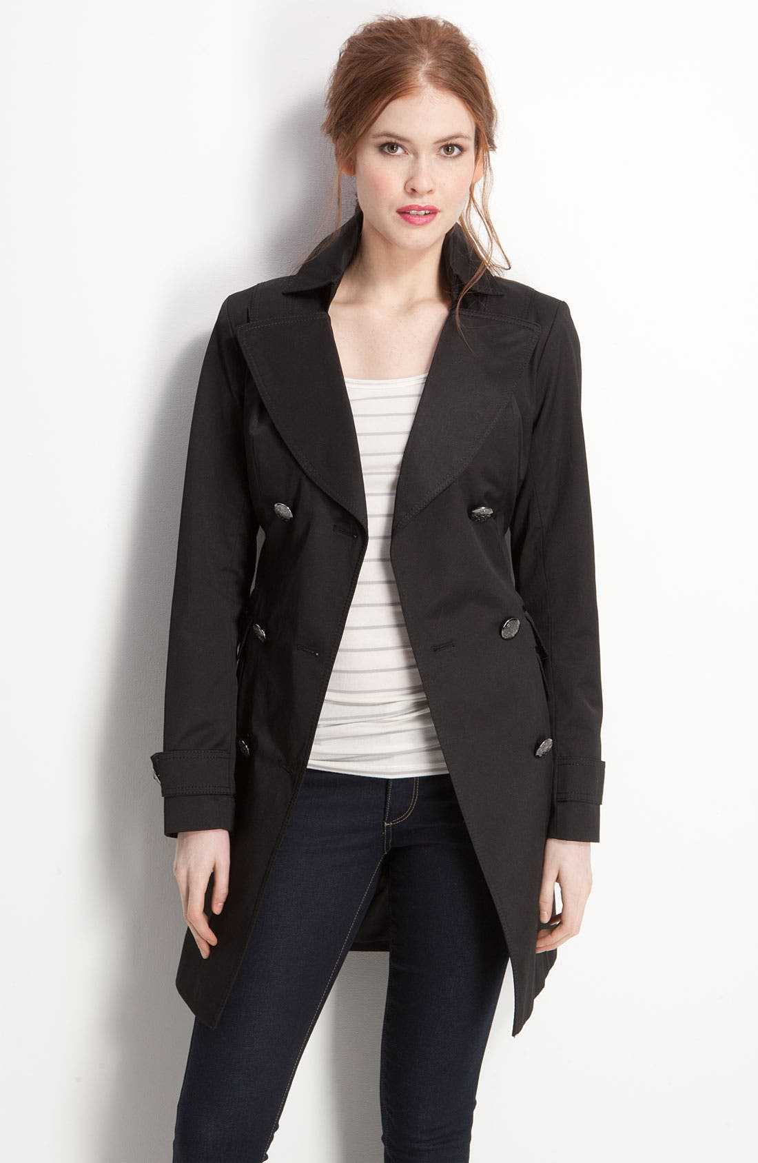 Main Image - Vince Camuto Double Breasted Trench Coat