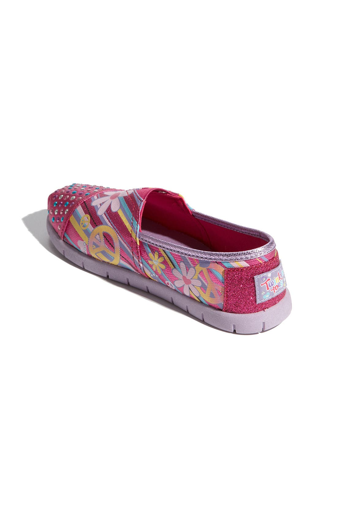 Alternate Image 2  - SKECHERS 'Shuffle Ups' Slip-On (Toddler, Little Kid & Big Kid)