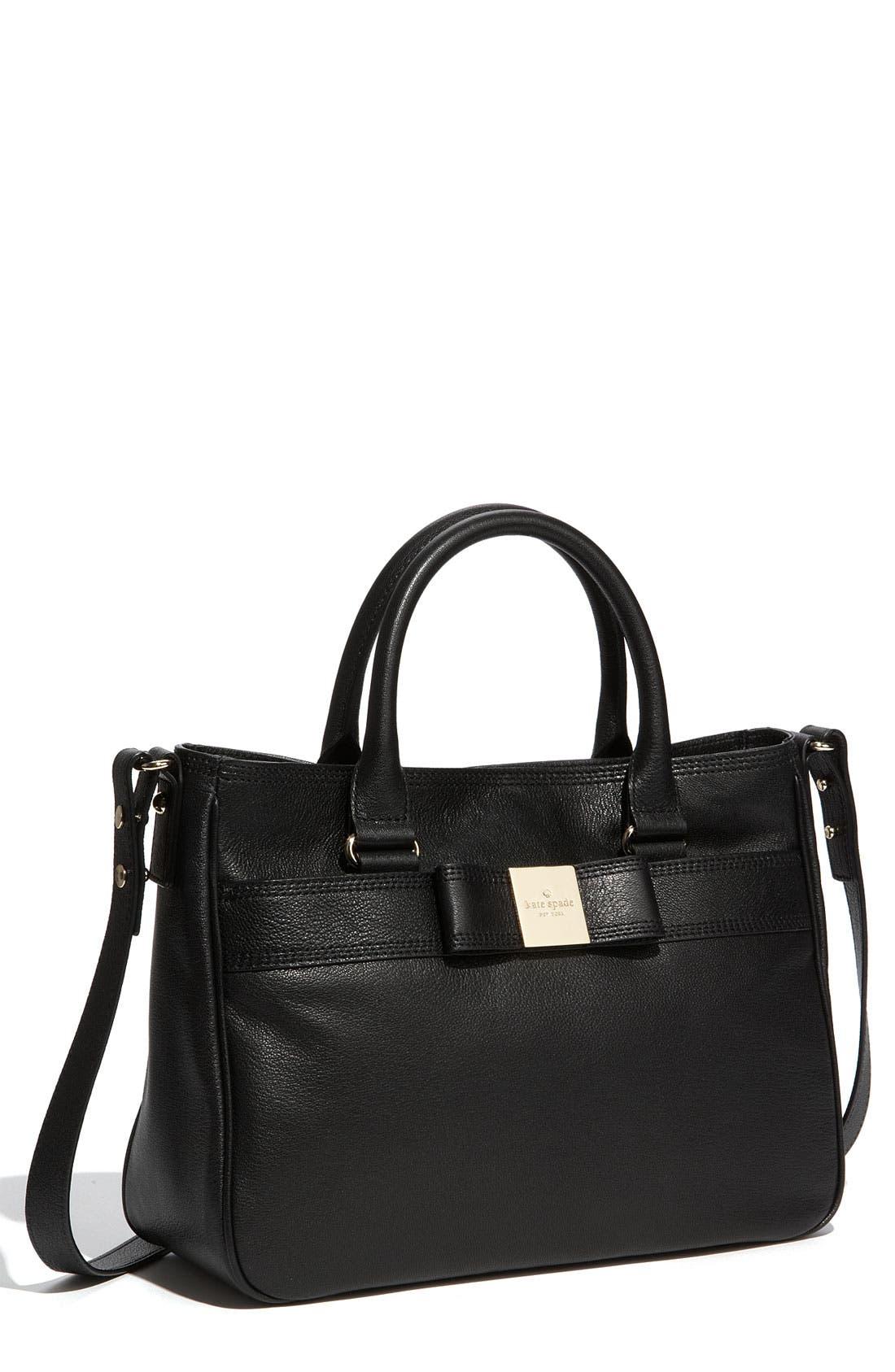Alternate Image 1 Selected - kate spade new york 'primrose hill - goldie' leather satchel