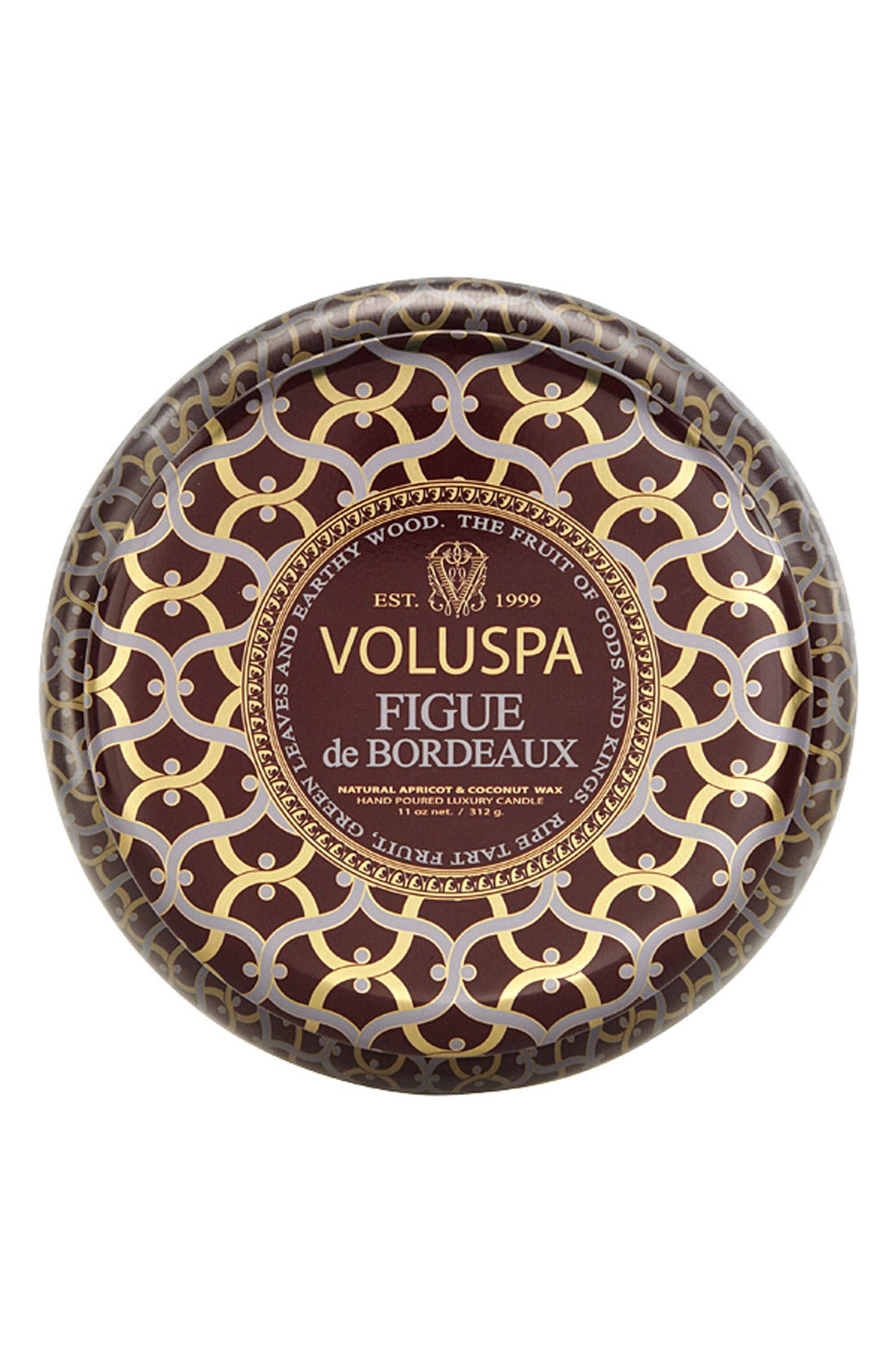 Alternate Image 1 Selected - Voluspa 'Maison Rouge - Figue de Bordeaux' 2-Wick Candle