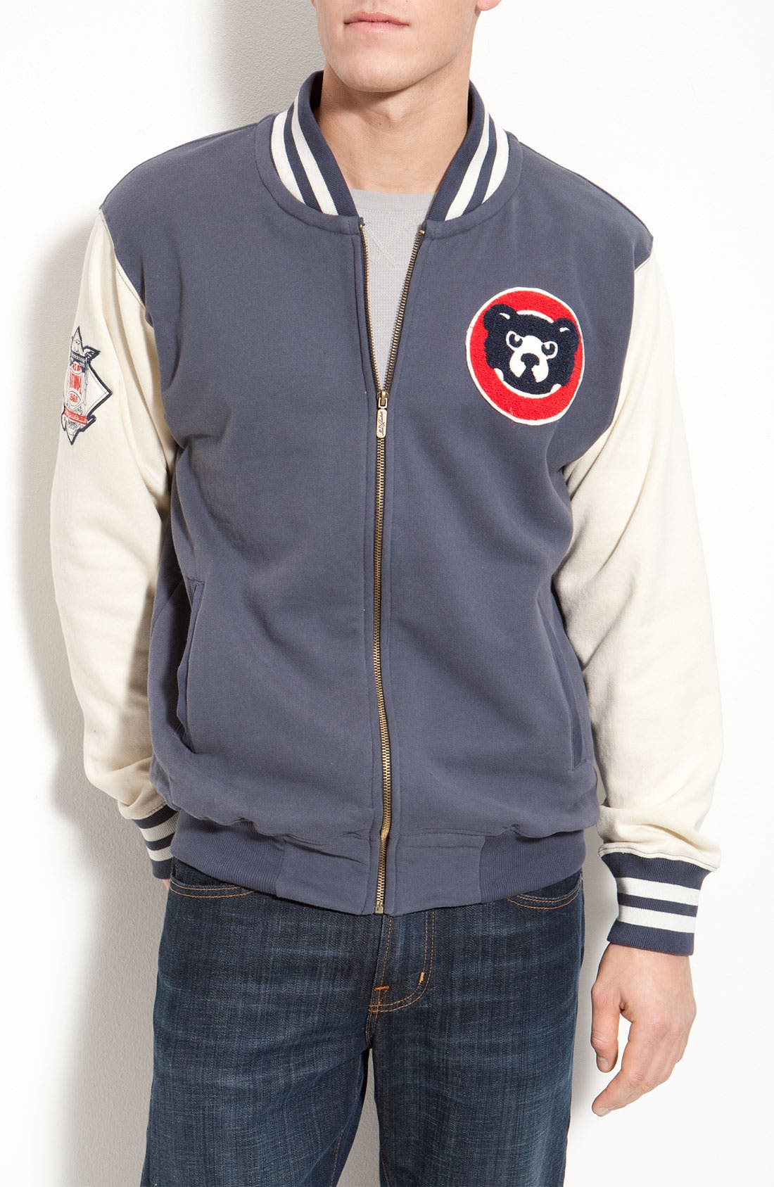 Alternate Image 1 Selected - Red Jacket 'Homeroom Cubs' Jacket