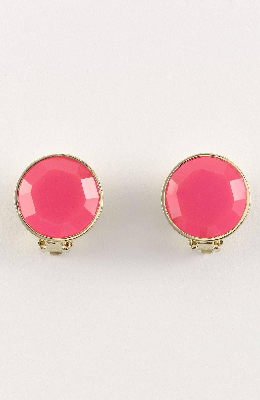Alternate Image 3  - kate spade new york 'bauble box' clip earrings