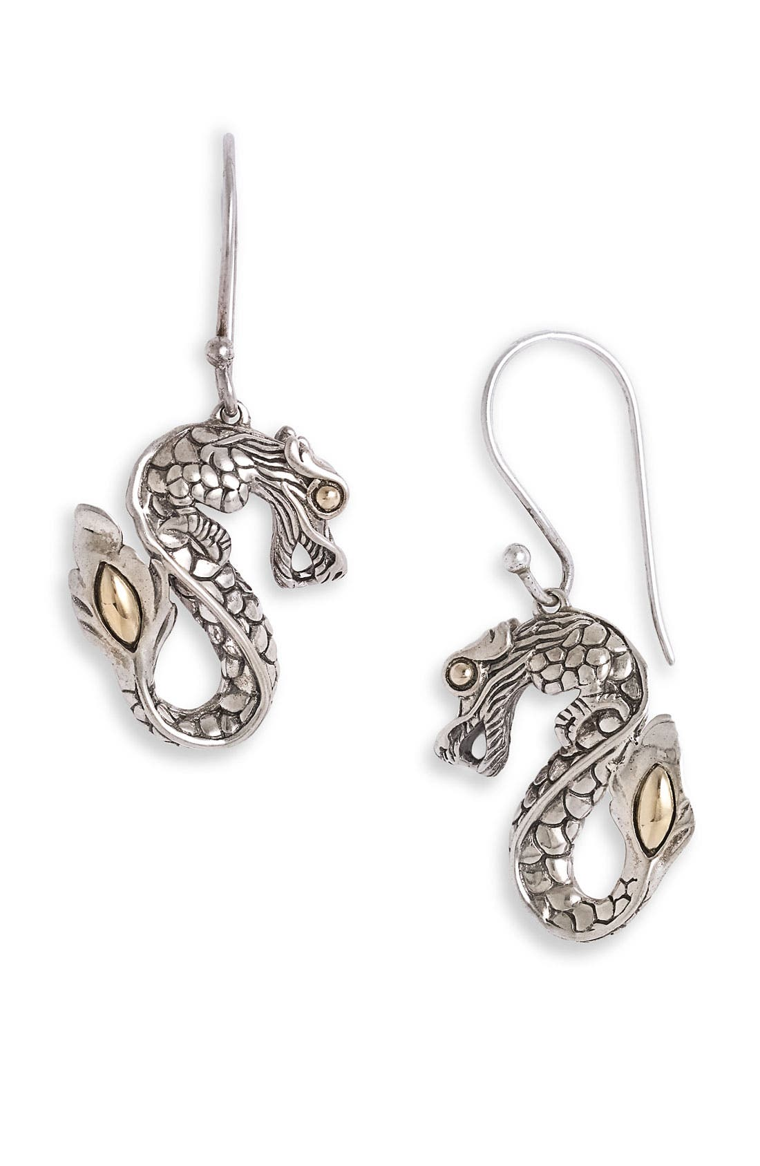 Alternate Image 1 Selected - John Hardy 'Naga' Dragon Drop Earrings