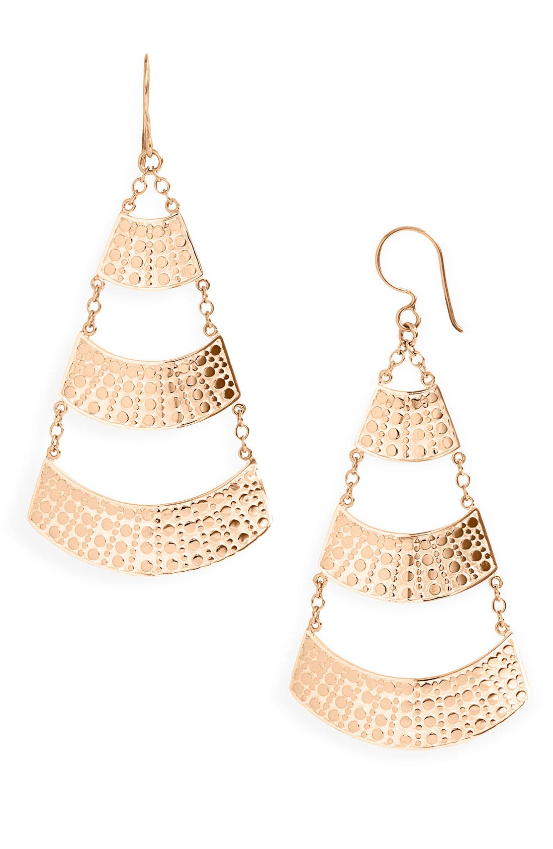 Alternate Image 1 Selected - Anna Beck 'Flores' Large Pyramid Earrings