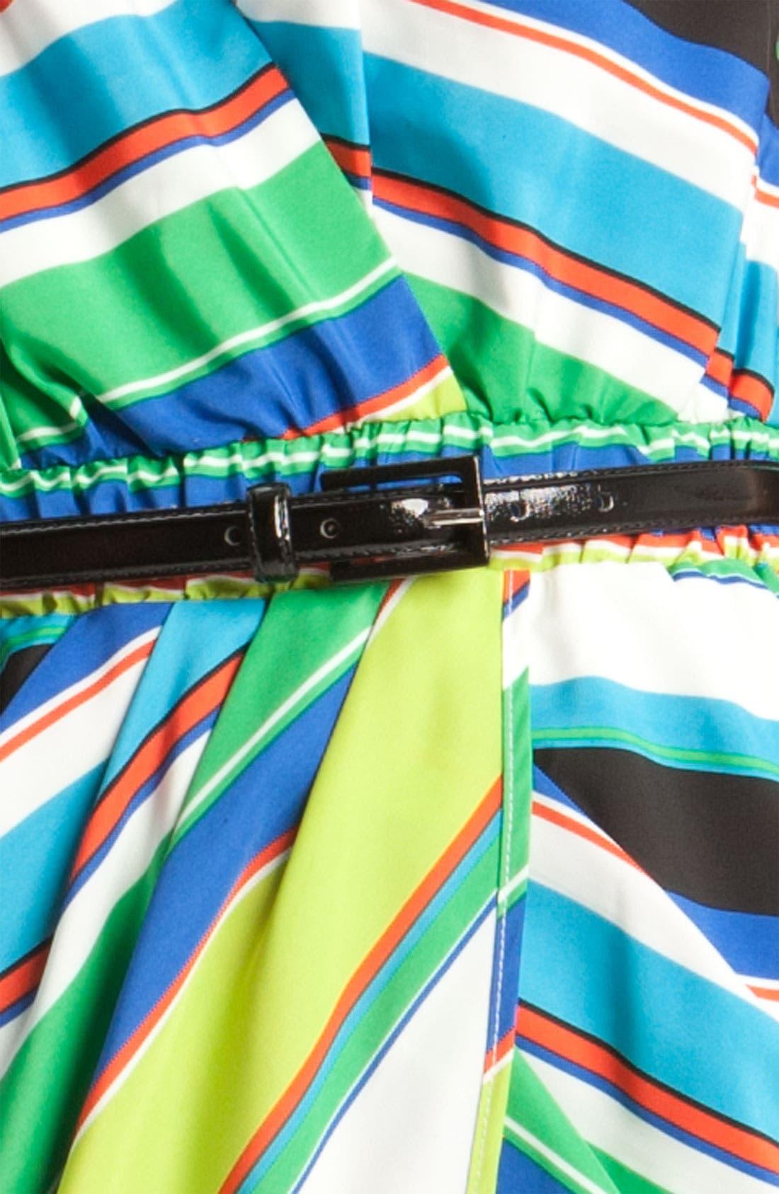Alternate Image 3  - Vince Camuto Tribal Stripe Faux Wrap Dress