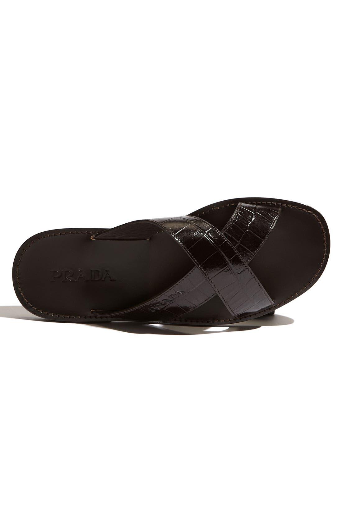Alternate Image 3  - Prada Cross Strap Sandal
