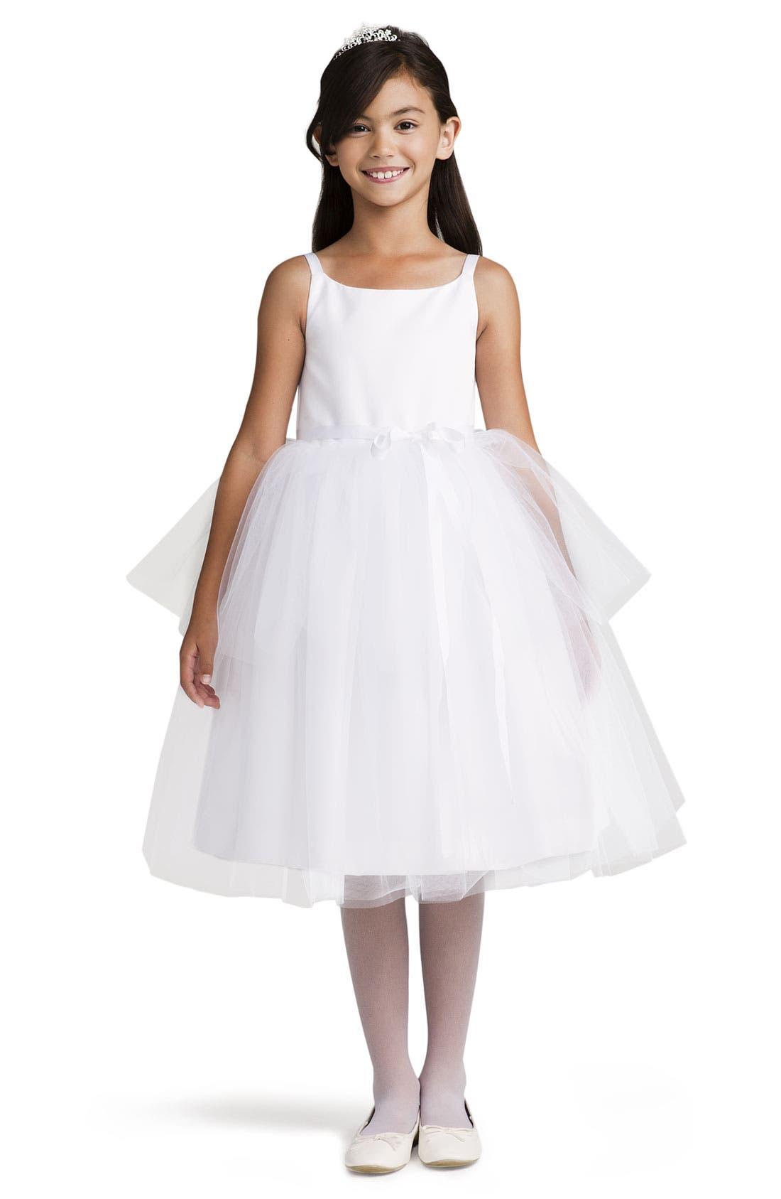 Alternate Image 1 Selected - Us Angels Tulle Ballerina Dress (Big Girls)