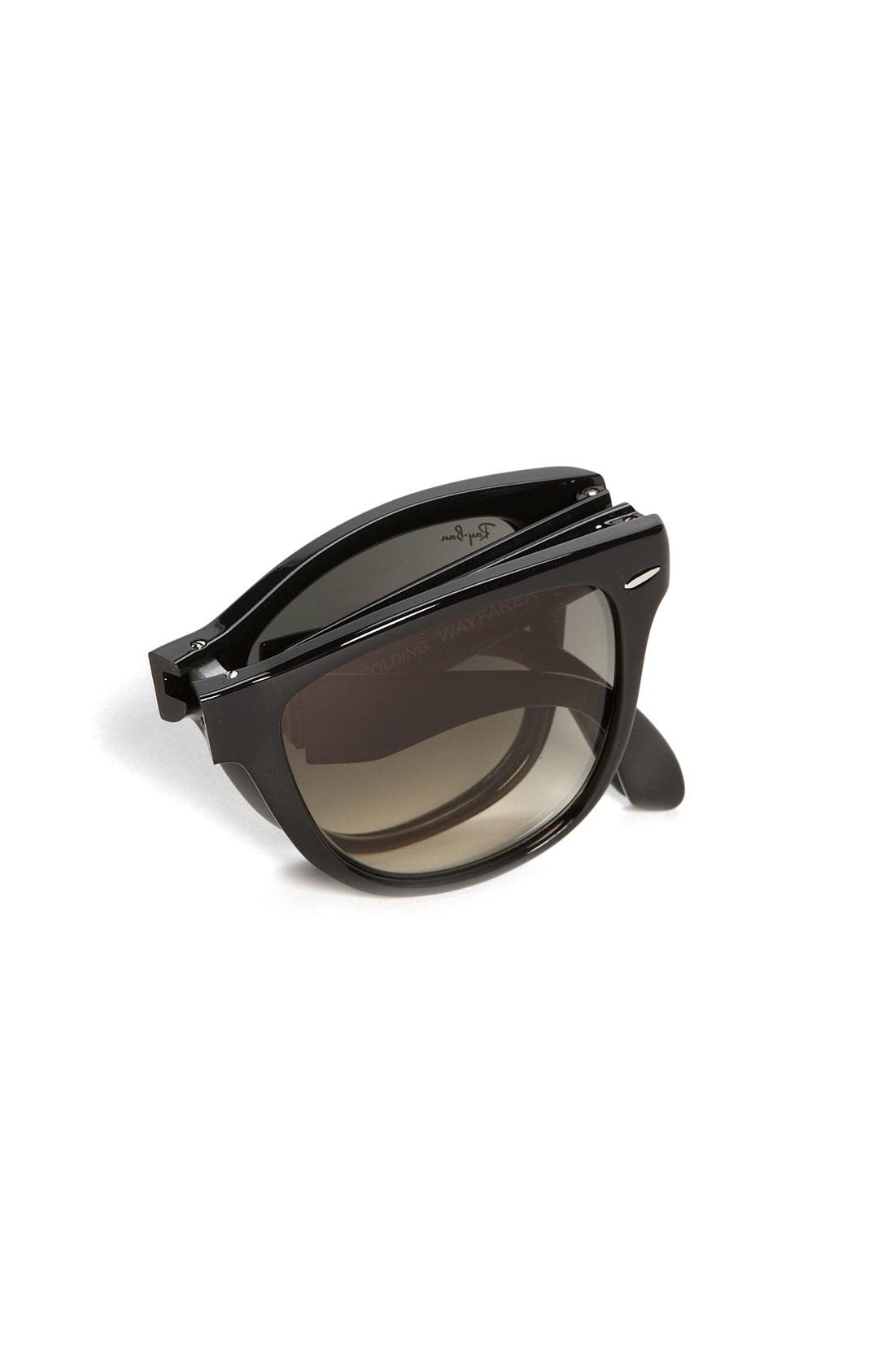 Alternate Image 2  - Ray-Ban 'Folding Wayfarer' 54mm Sunglasses