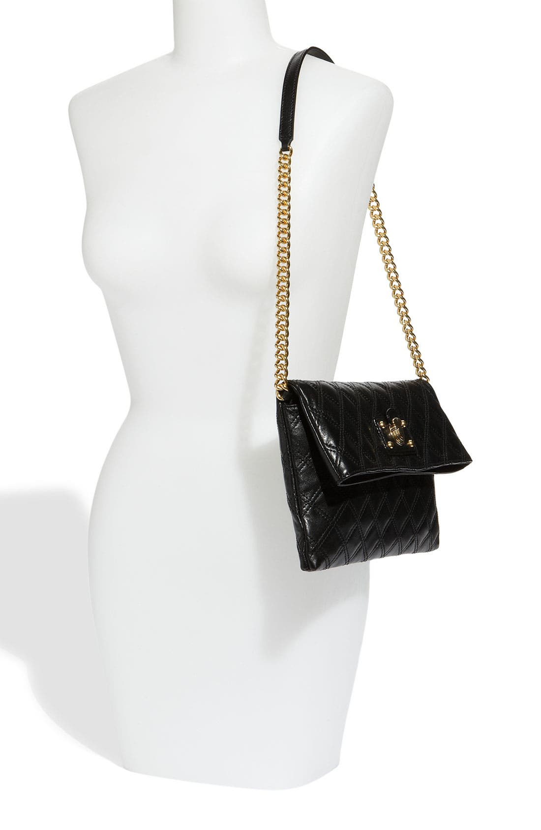 Alternate Image 2  - MARC JACOBS 'Quilting Sandy' Lambskin Leather Clutch