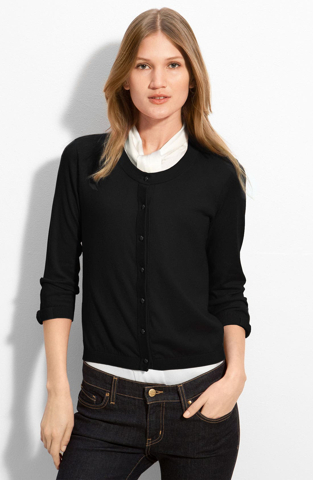 Alternate Image 1 Selected - kate spade new york 'caroline' cardigan