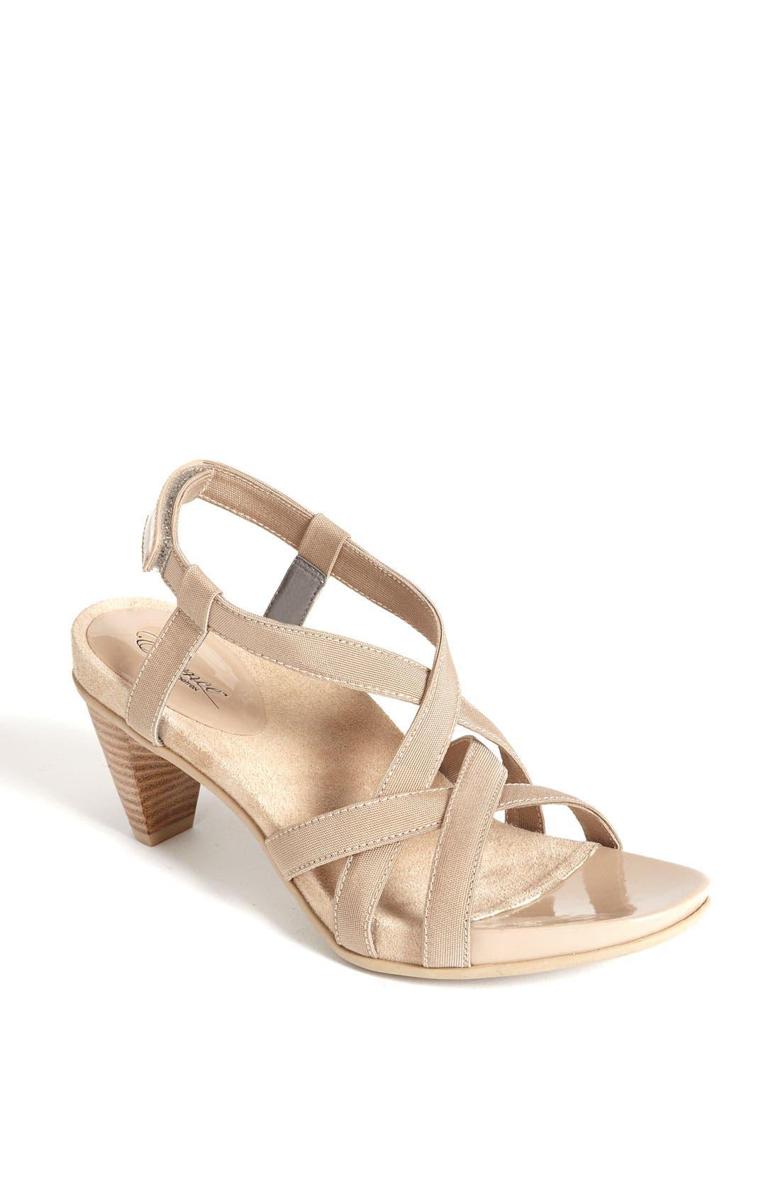Alternate Image 1 Selected - Aetrex 'Ashley' Sandal