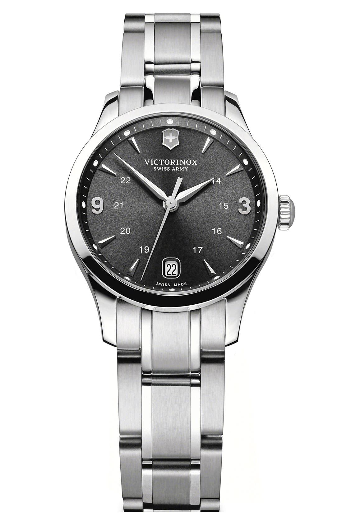 Alternate Image 1 Selected - Victorinox Swiss Army® 'Alliance' Bracelet Watch