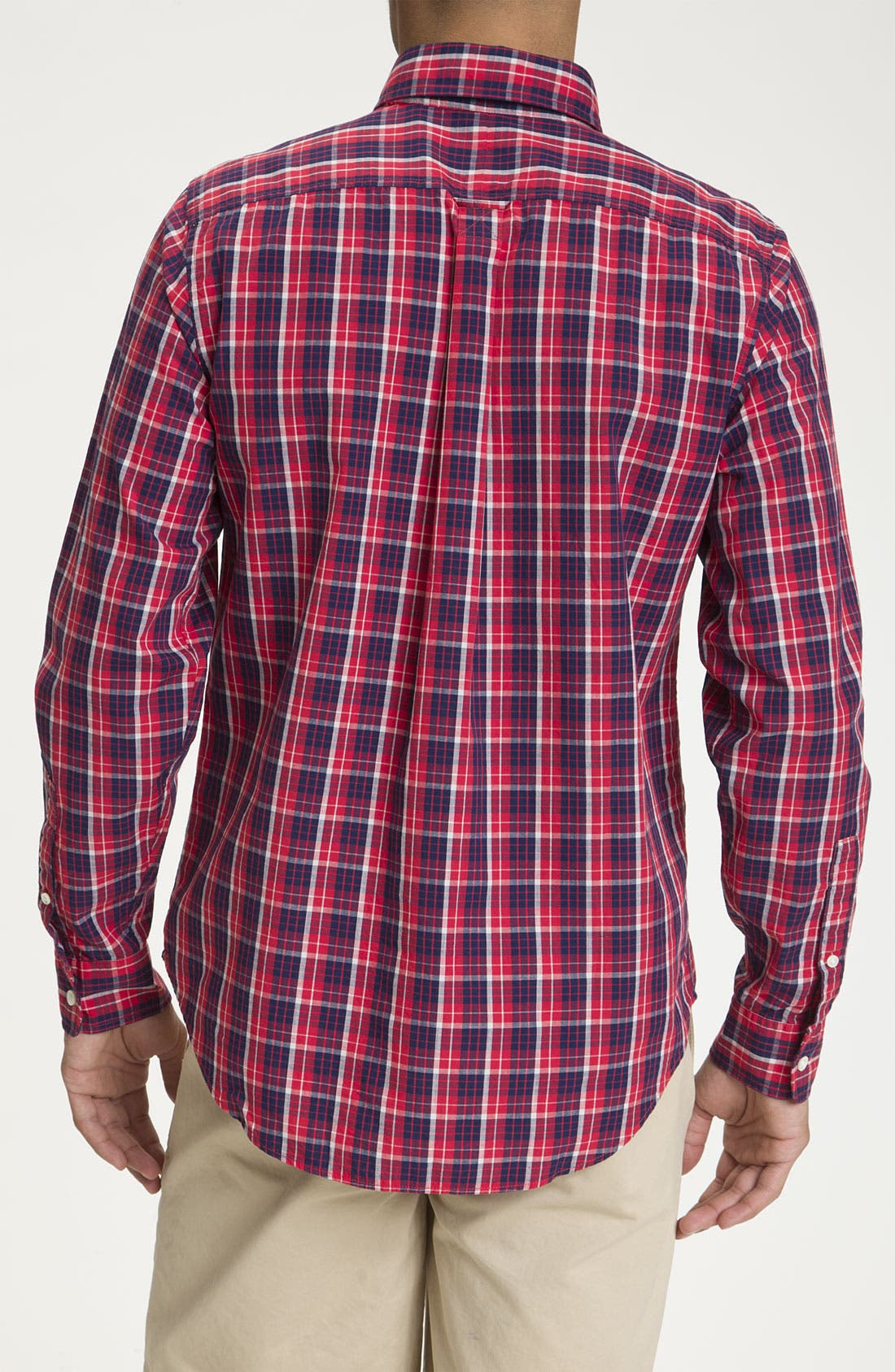 Alternate Image 2  - Jack Spade 'Adler' Plaid Woven Shirt
