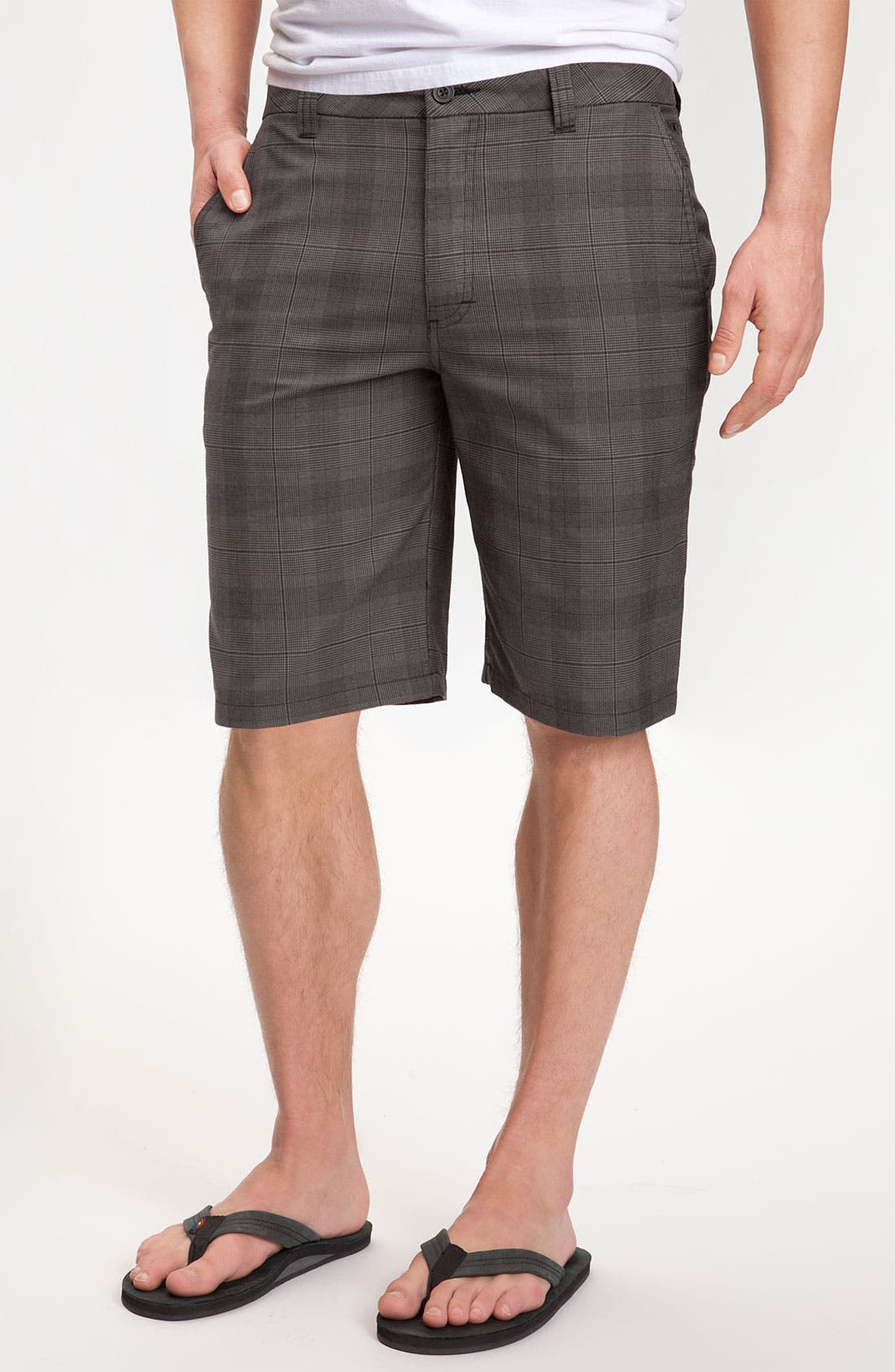 Main Image - O'Neill 'Delta' Plaid Shorts