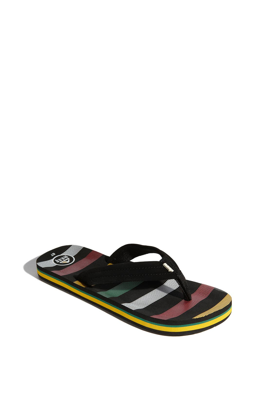 Main Image - Reef 'Ahi' Sandal (Walker, Toddler, Little Kid & Big Kid)