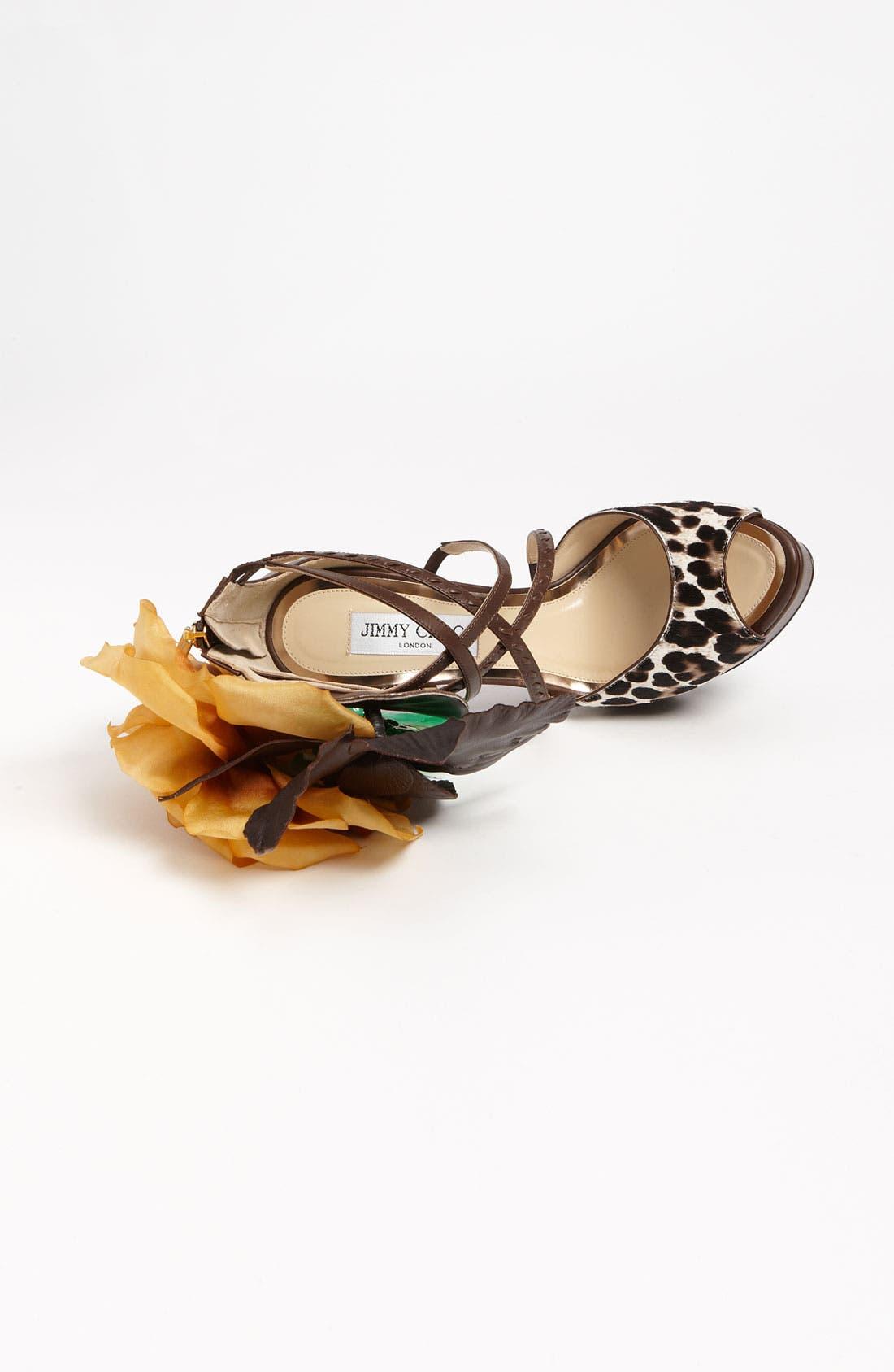 Alternate Image 3  - Jimmy Choo 'Mira Flower' Sandal