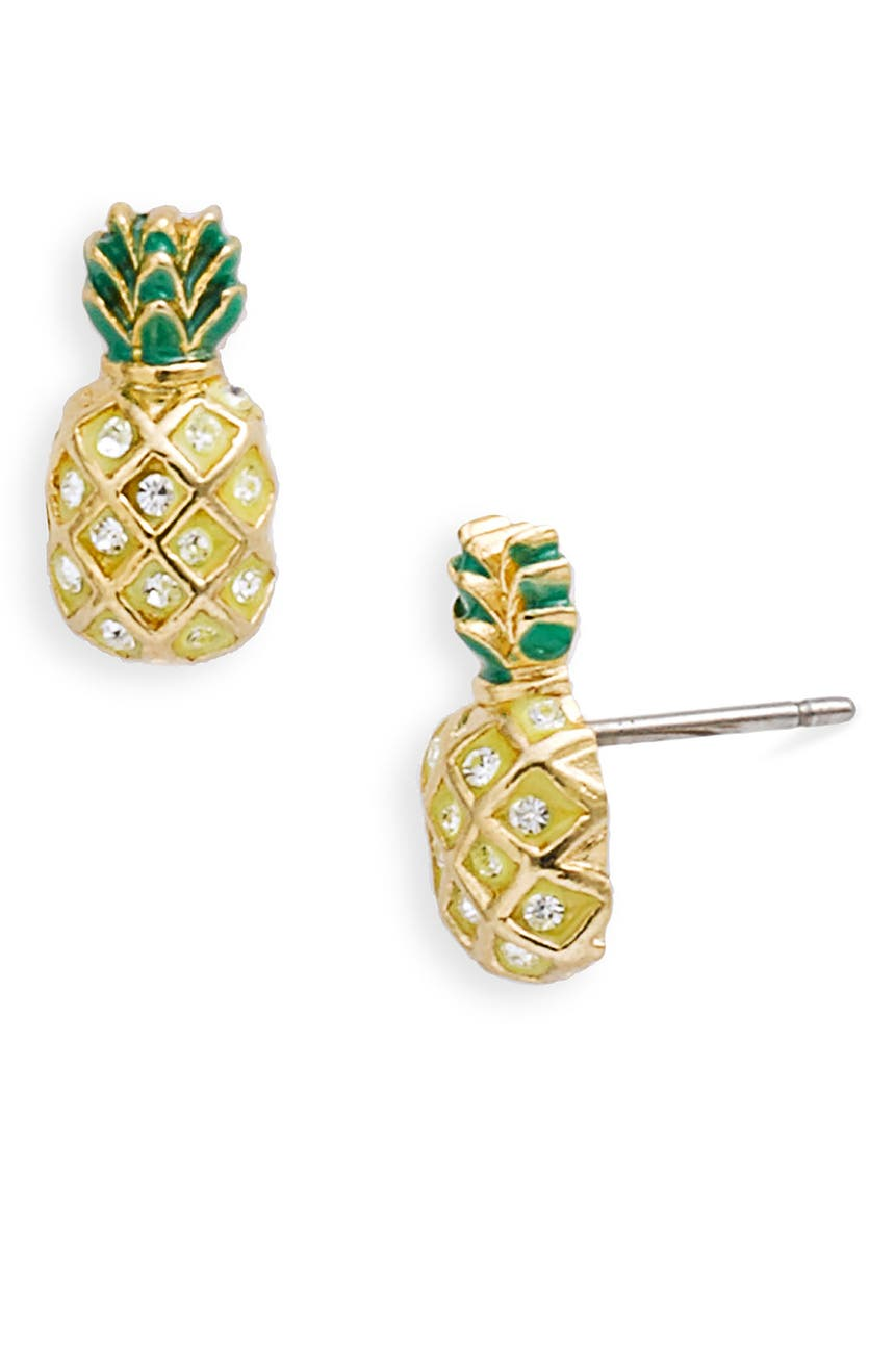 Juicy Couture 'creatures Of Paradise' Pineapple Stud Earrings  Nordstrom