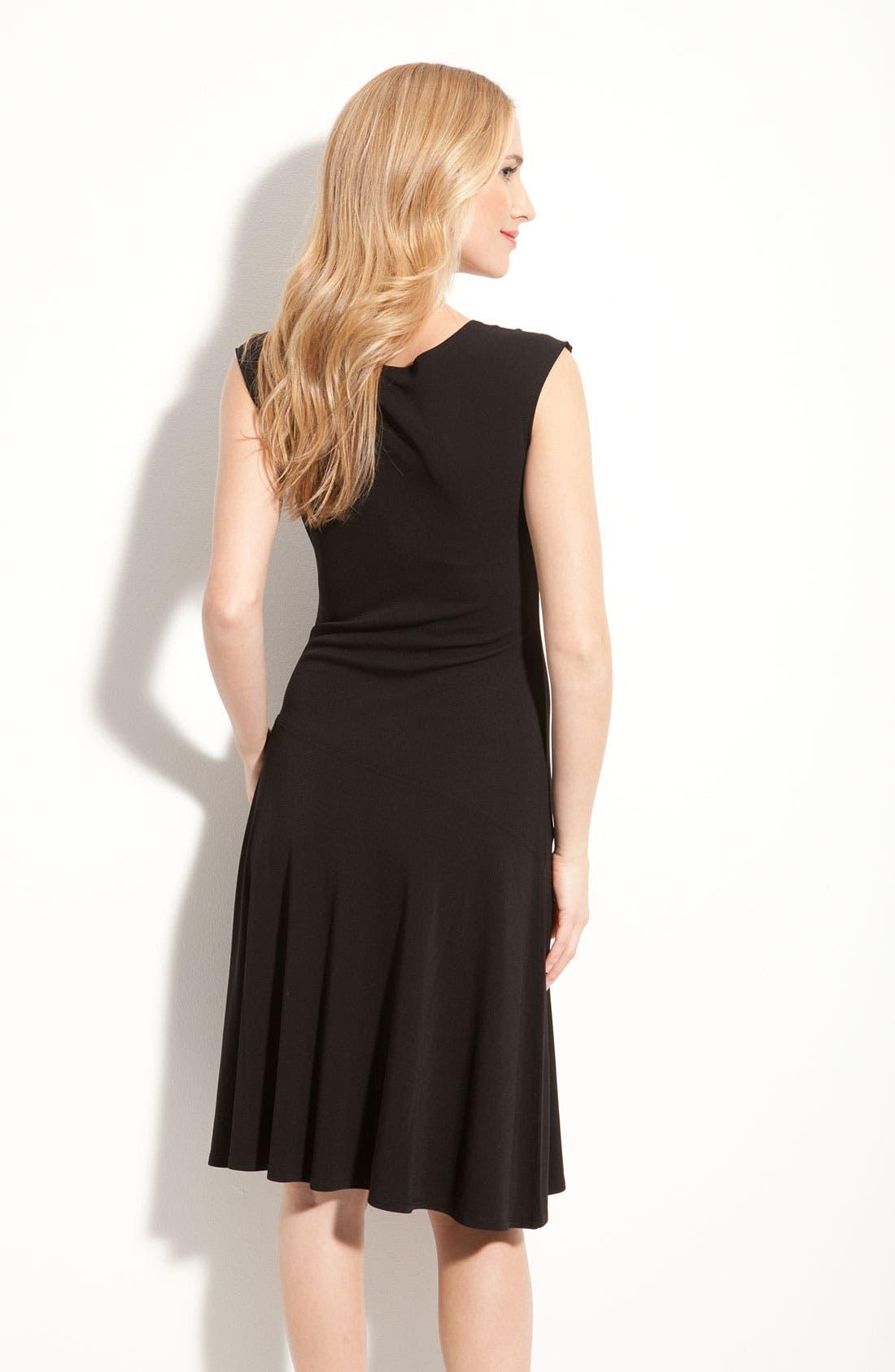 Alternate Image 2  - Nic + Zoe Sleeveless Matte Jersey Dress (Petite)