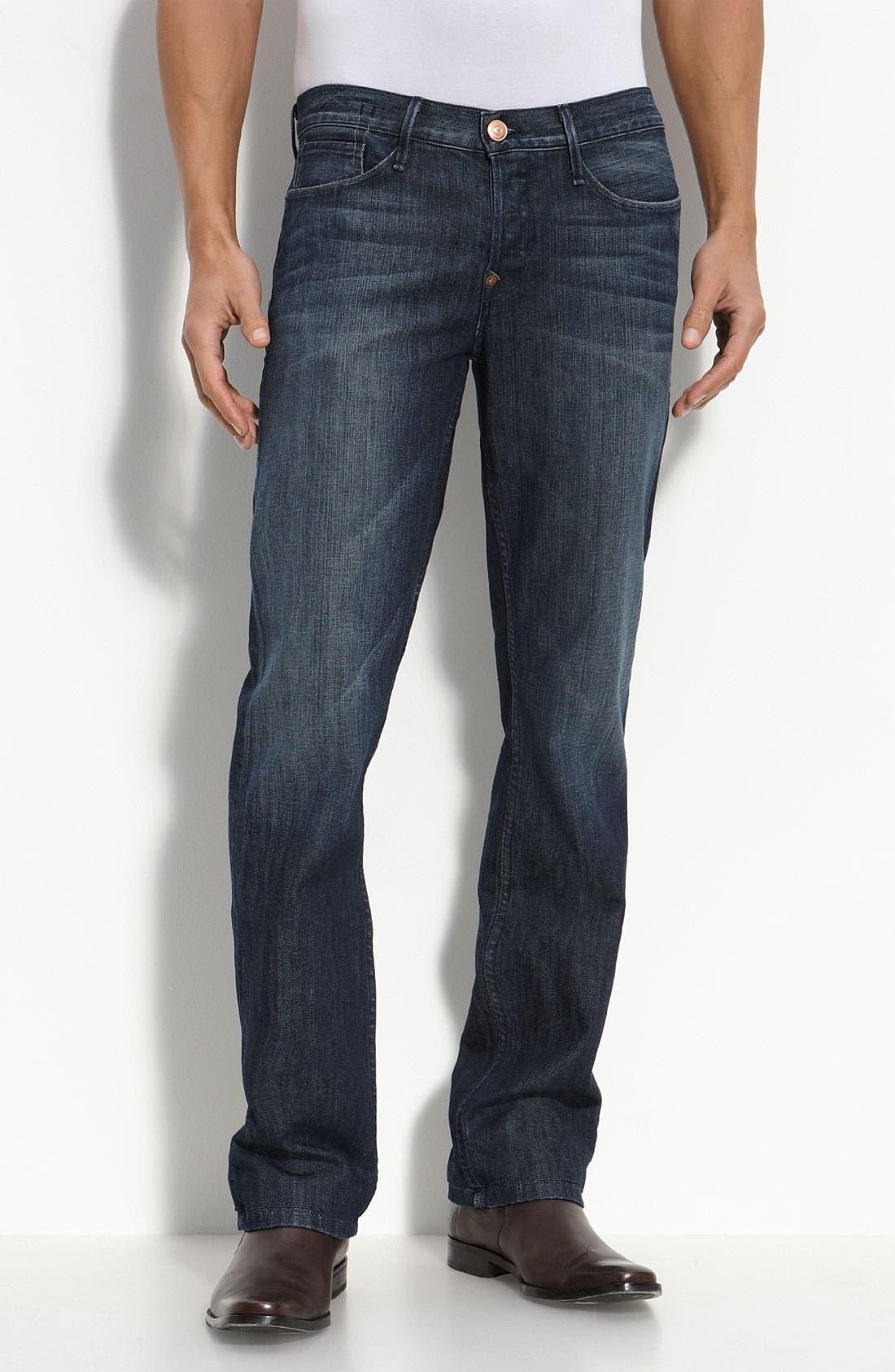 Alternate Image 1 Selected - Earnest Sewn 'Fulton' Straight Leg Jeans (Parker)