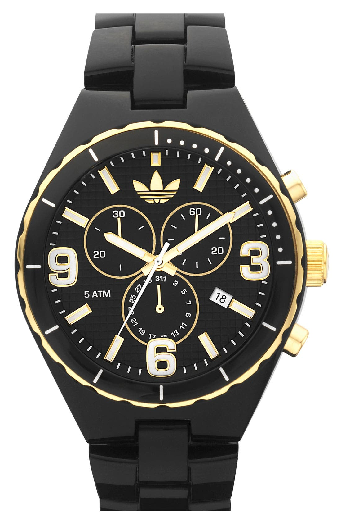 Main Image - adidas Originals 'Resin Cambridge' 44mm Chronograph Watch