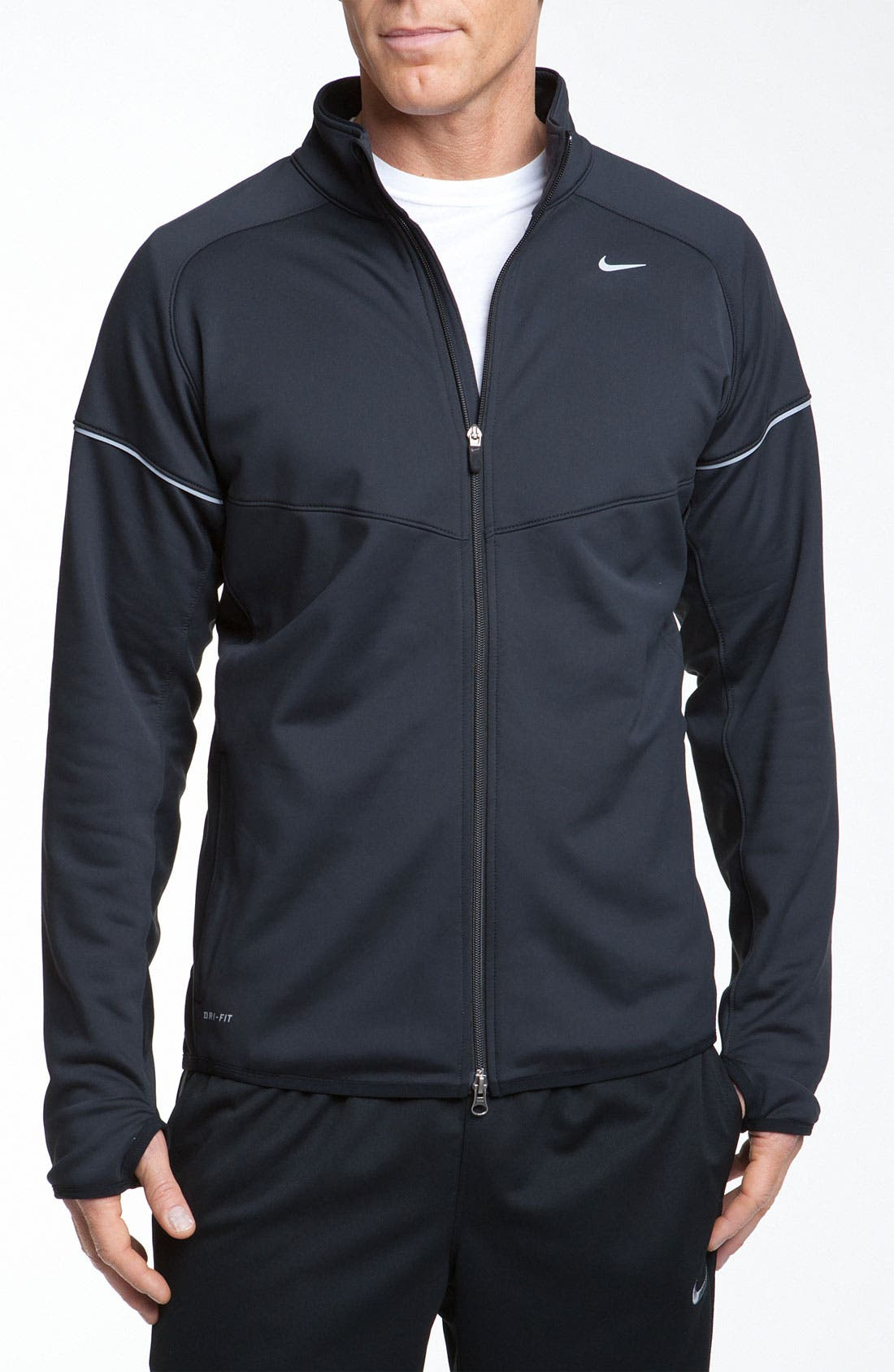 Alternate Image 1 Selected - Nike 'Element' Thermal Dri-FIT Water Resistant Running Jacket