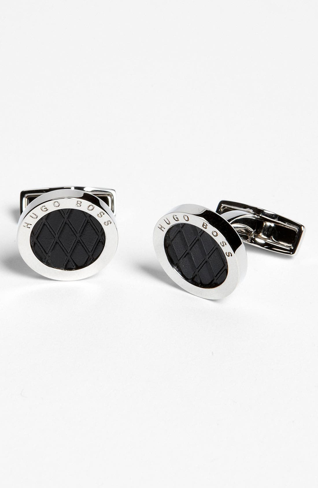 Alternate Image 1 Selected - BOSS Black 'Lael' Cuff Links