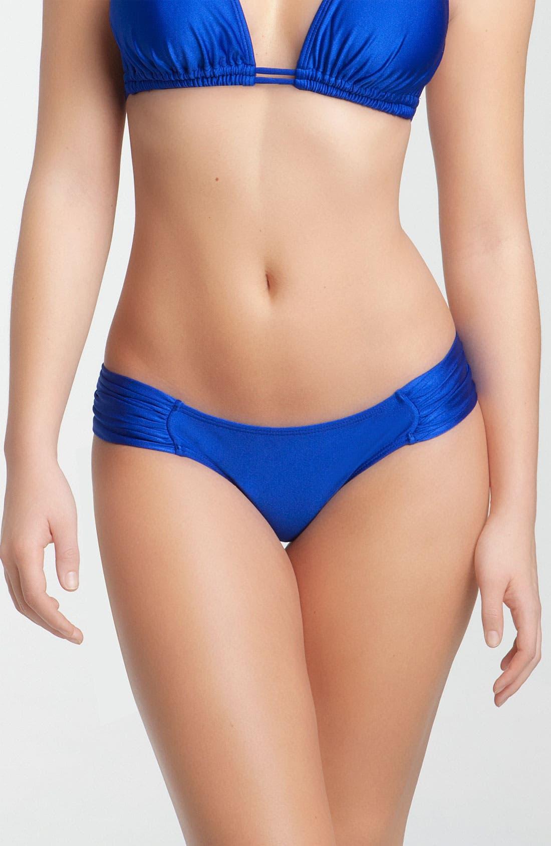Alternate Image 1 Selected - Luli Fama Scrunch Side Bikini Bottoms