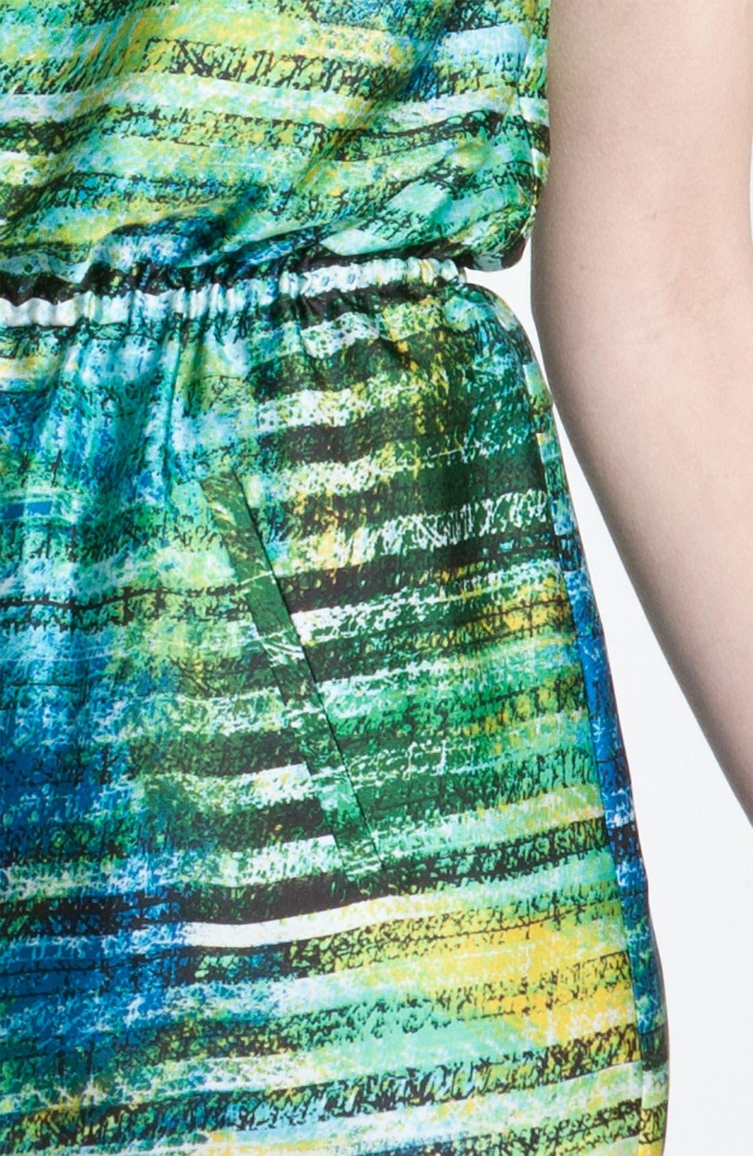 Alternate Image 3  - Chaus 'Spray Paint Stripe' Dress