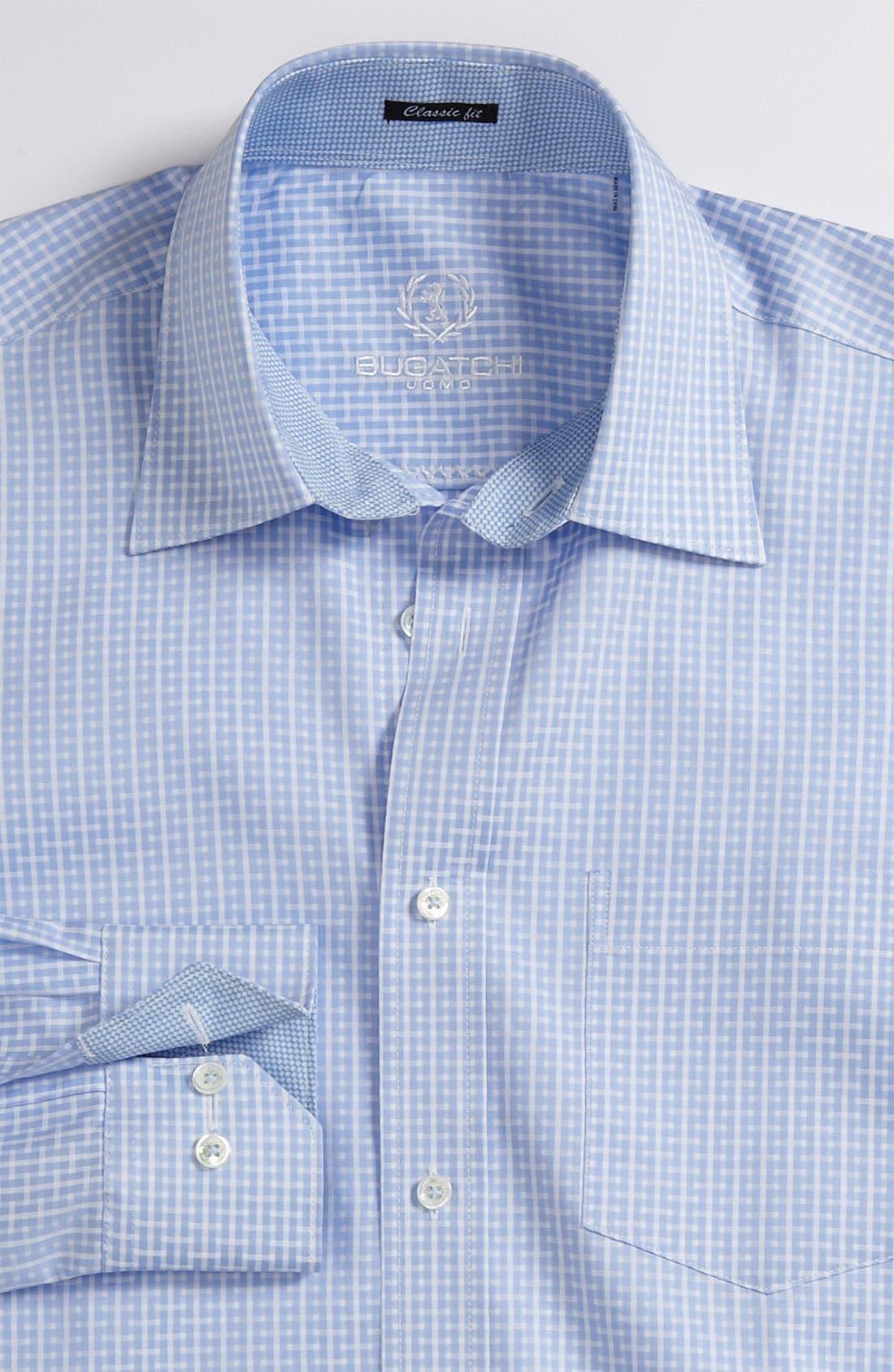 Main Image - Bugatchi Uomo Classic Fit Sport Shirt