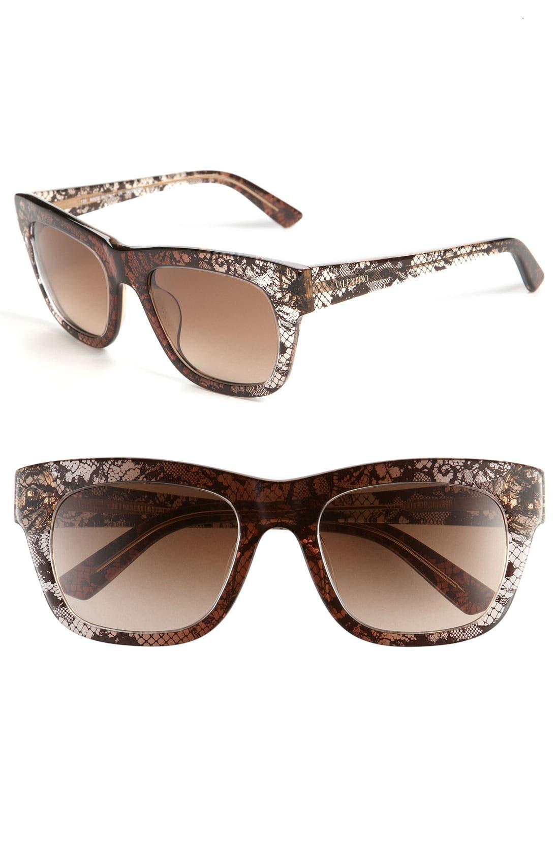 Alternate Image 1 Selected - Valentino Sunglasses