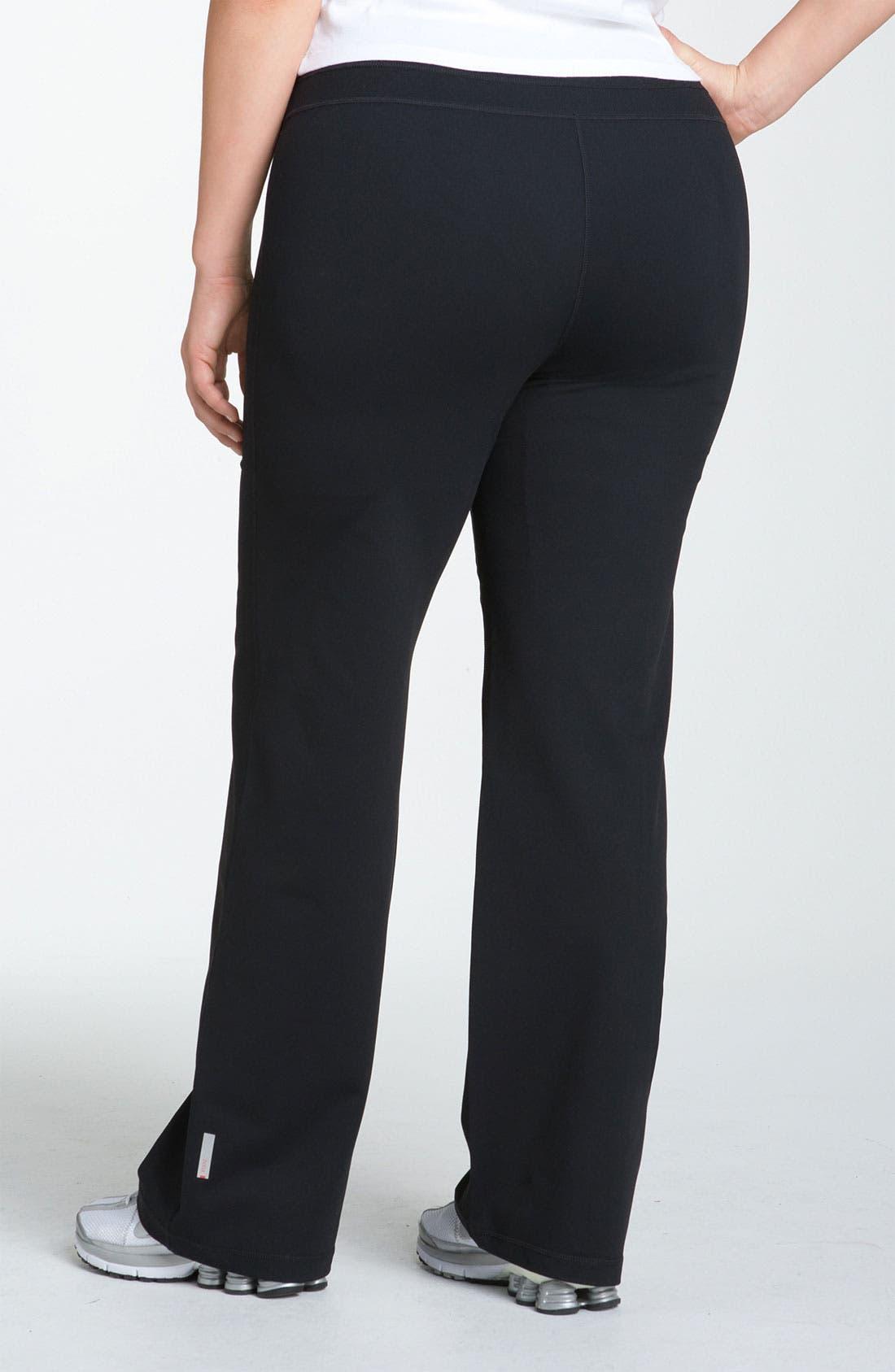 Alternate Image 2  - Zella 'Booty' Reversible Pants (Plus Size)