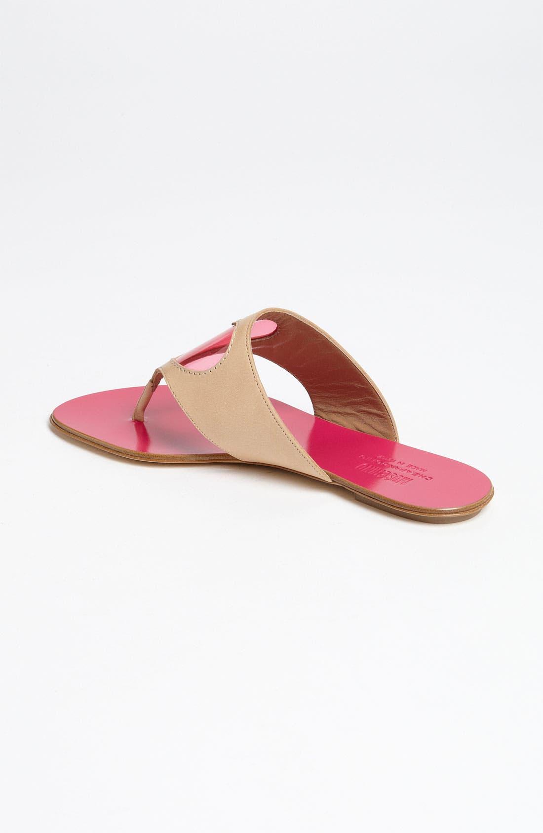Alternate Image 2  - Moschino Cheap & Chic Heart Sandal