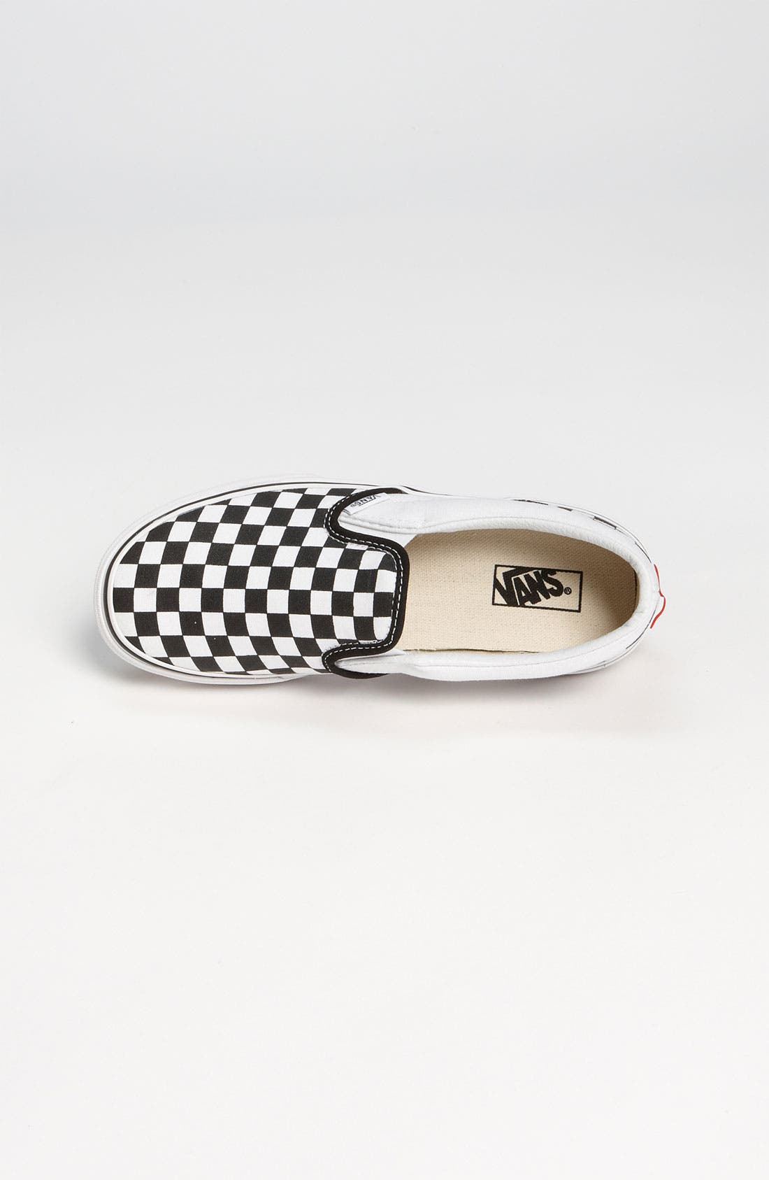 Alternate Image 3  - Vans 'Classic - Checker' Slip-On (Baby, Walker, Toddler, Little Kid & Big Kid)