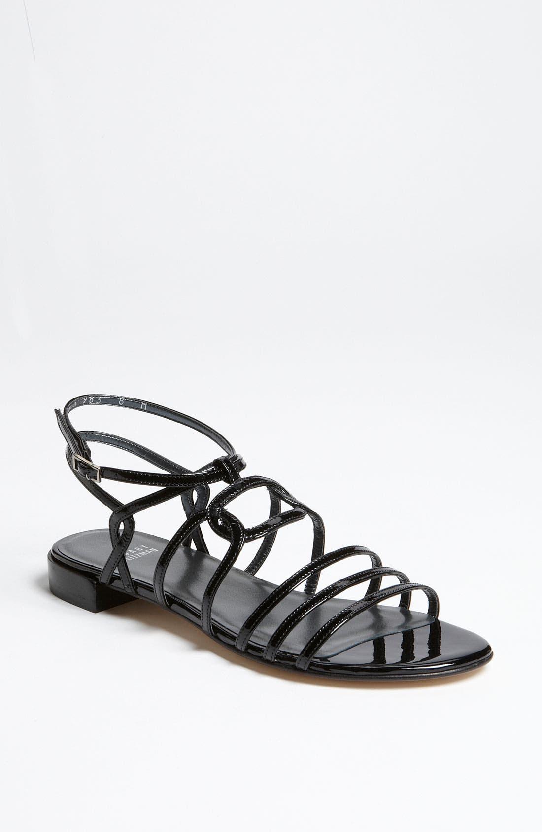 Alternate Image 1 Selected - Stuart Weitzman 'Window' Sandal